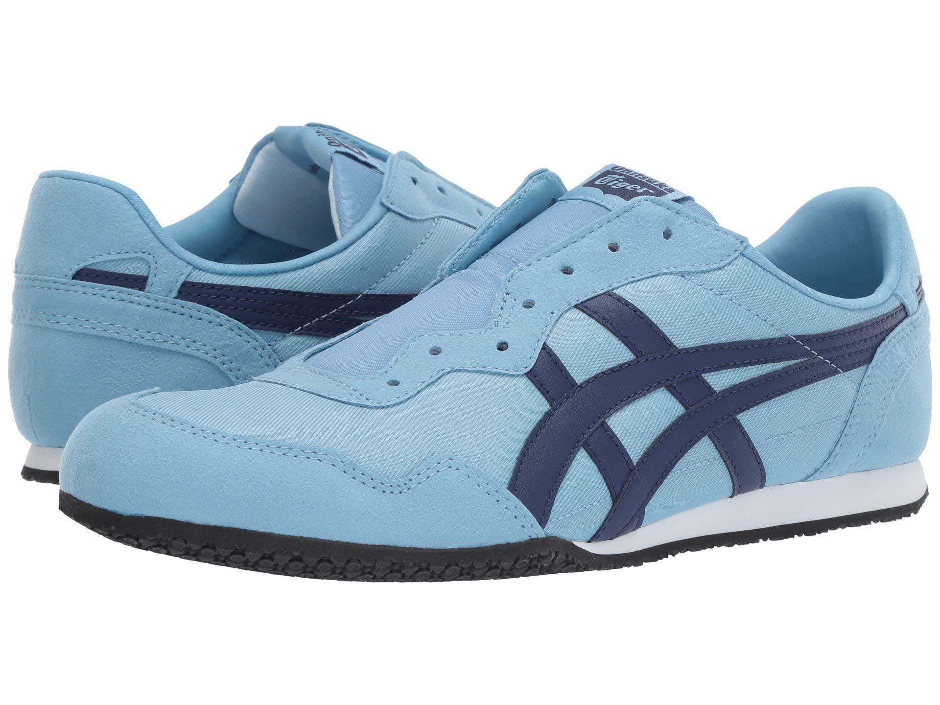 e9ec330bac1 Men's Blue Serrano Slip-on (white/black) Classic Shoes