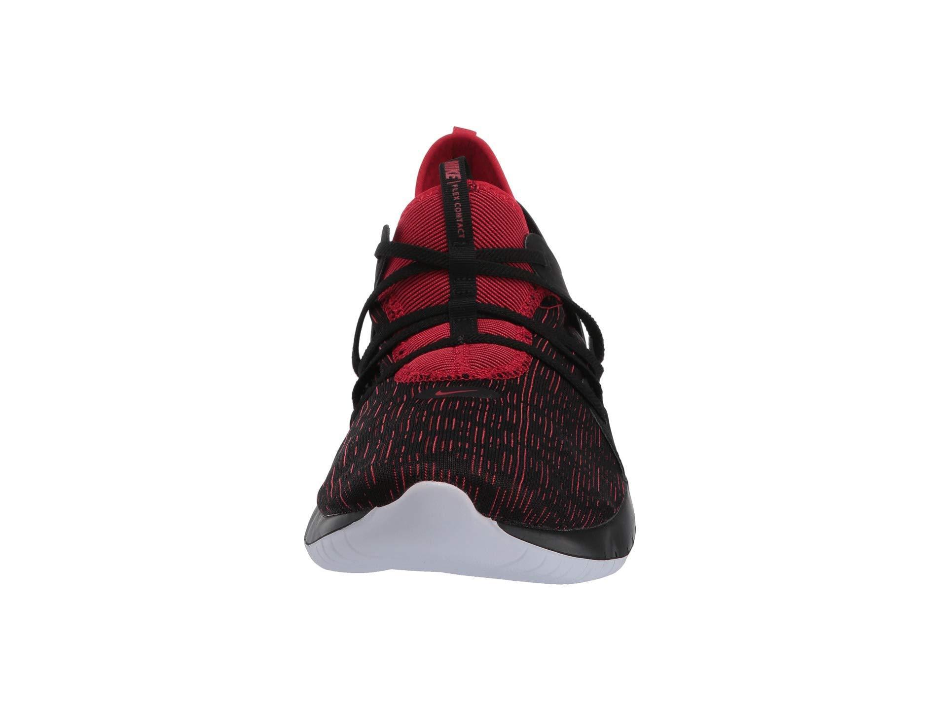 b85b200ca9068 Flex Contact 3 (black/university Red/white) Men's Running Shoes