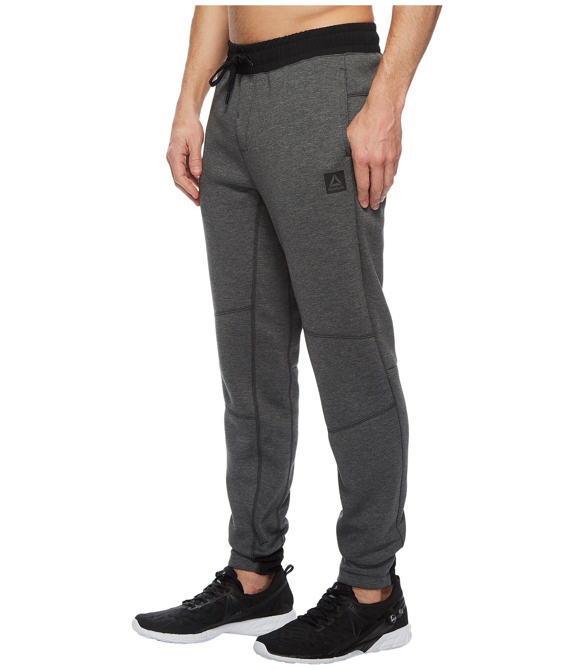 reebok training supply knit jogger