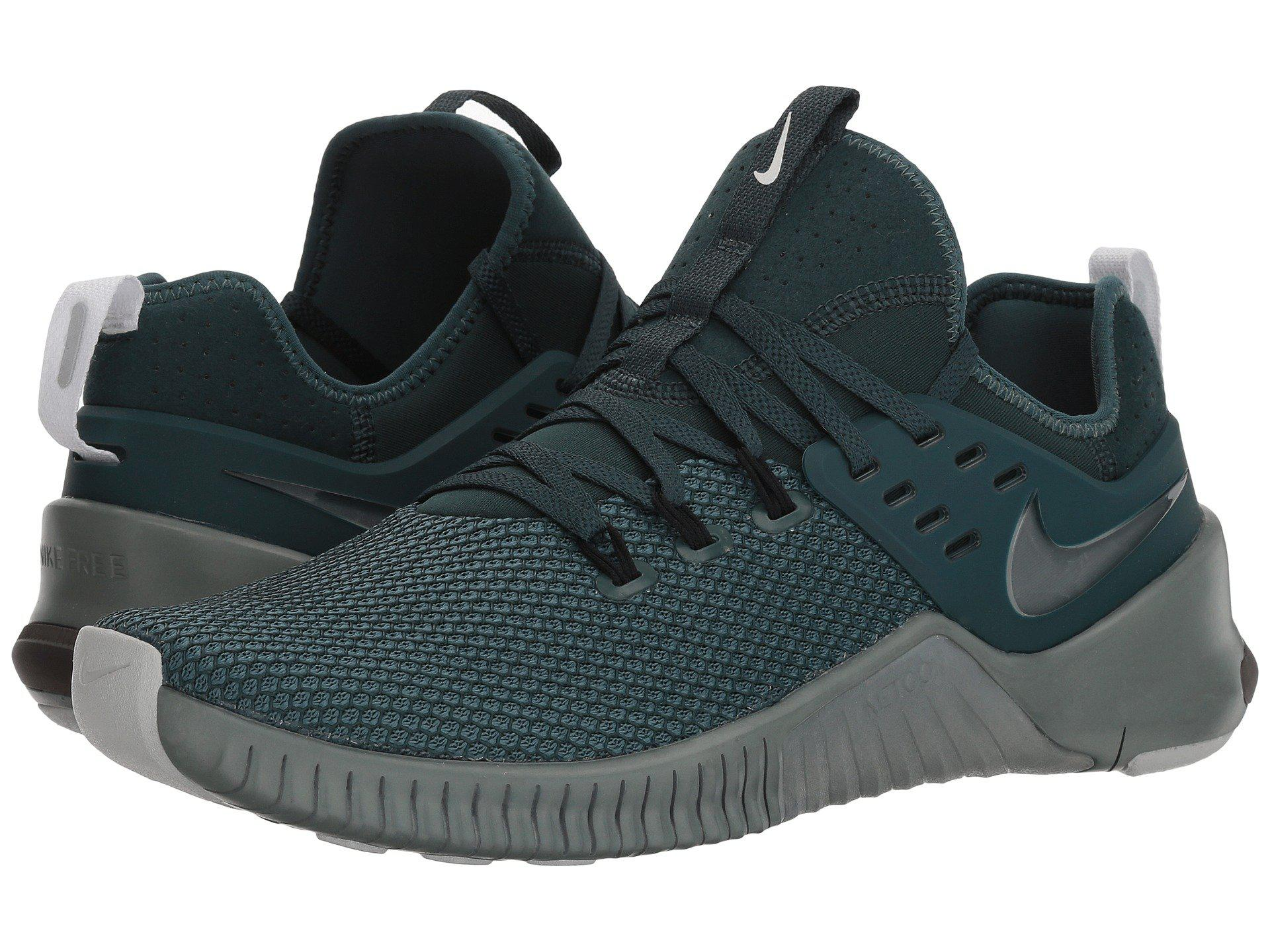 Nike. Men's Green Metcon Free