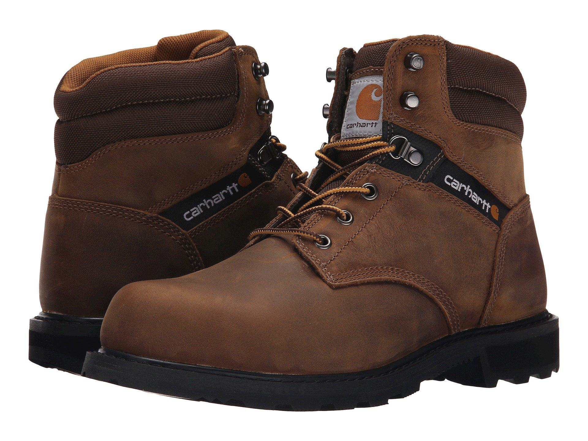 cc5520d9bdf Men's Brown Traditional Welt 6 Steel Toe Work Boot