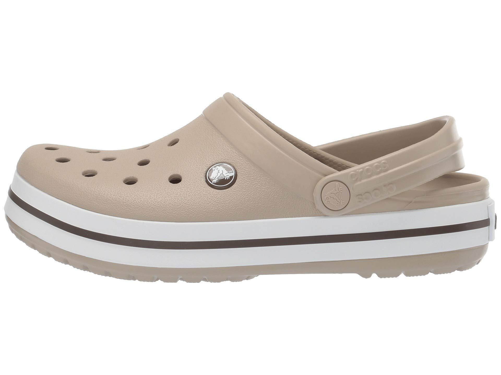różnie w sprzedaży hurtowej online tutaj Crocband Clog (light Grey/bright Coral) Clog Shoes