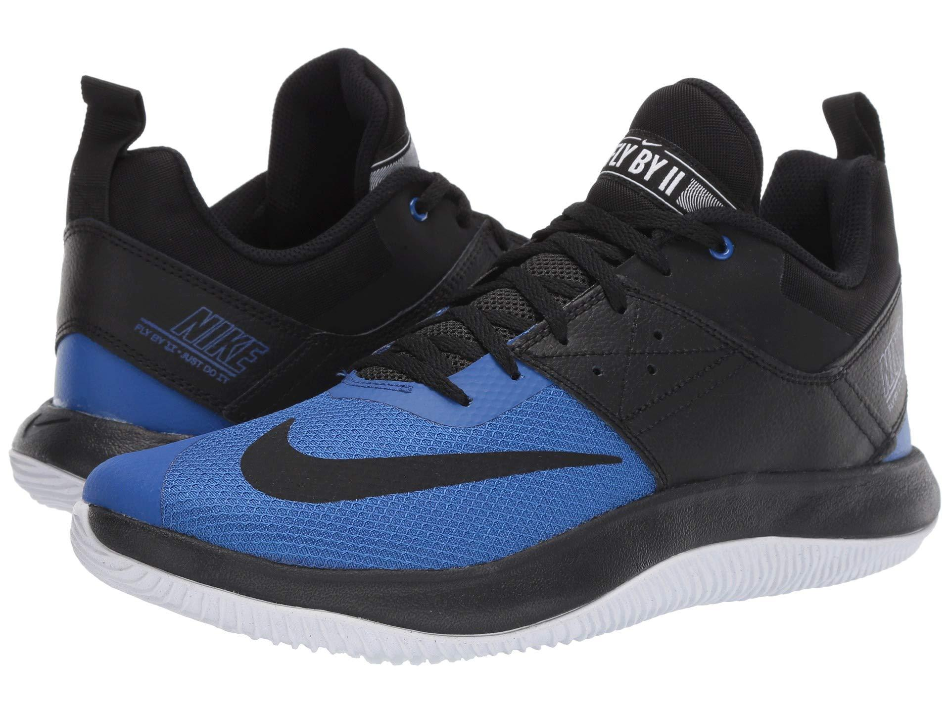 932fb83fe5c3 Lyst - Nike Fly.by Low Ii (black black game Royal white) Men s ...