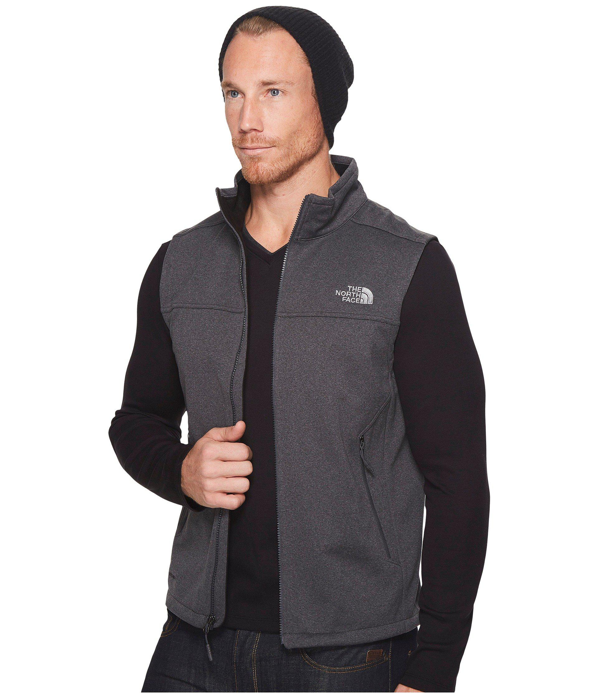 f94f8366ae8 Lyst - The North Face Apex Canyonwall Vest (tnf Dark Grey Heather tnf Dark  Grey Heather) Men s Vest in Gray for Men