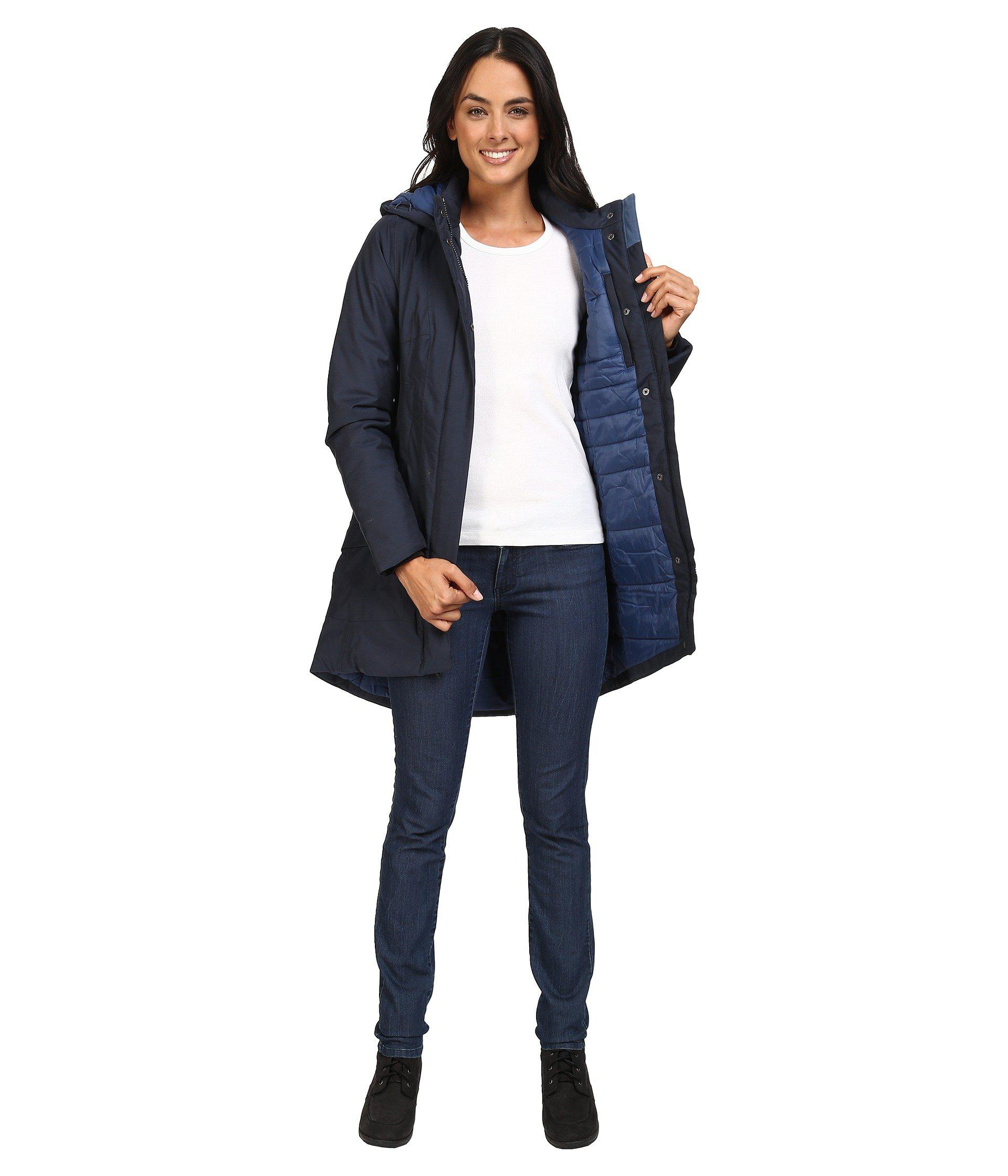 bf543346d Women's Blue Temescal Trench Coat
