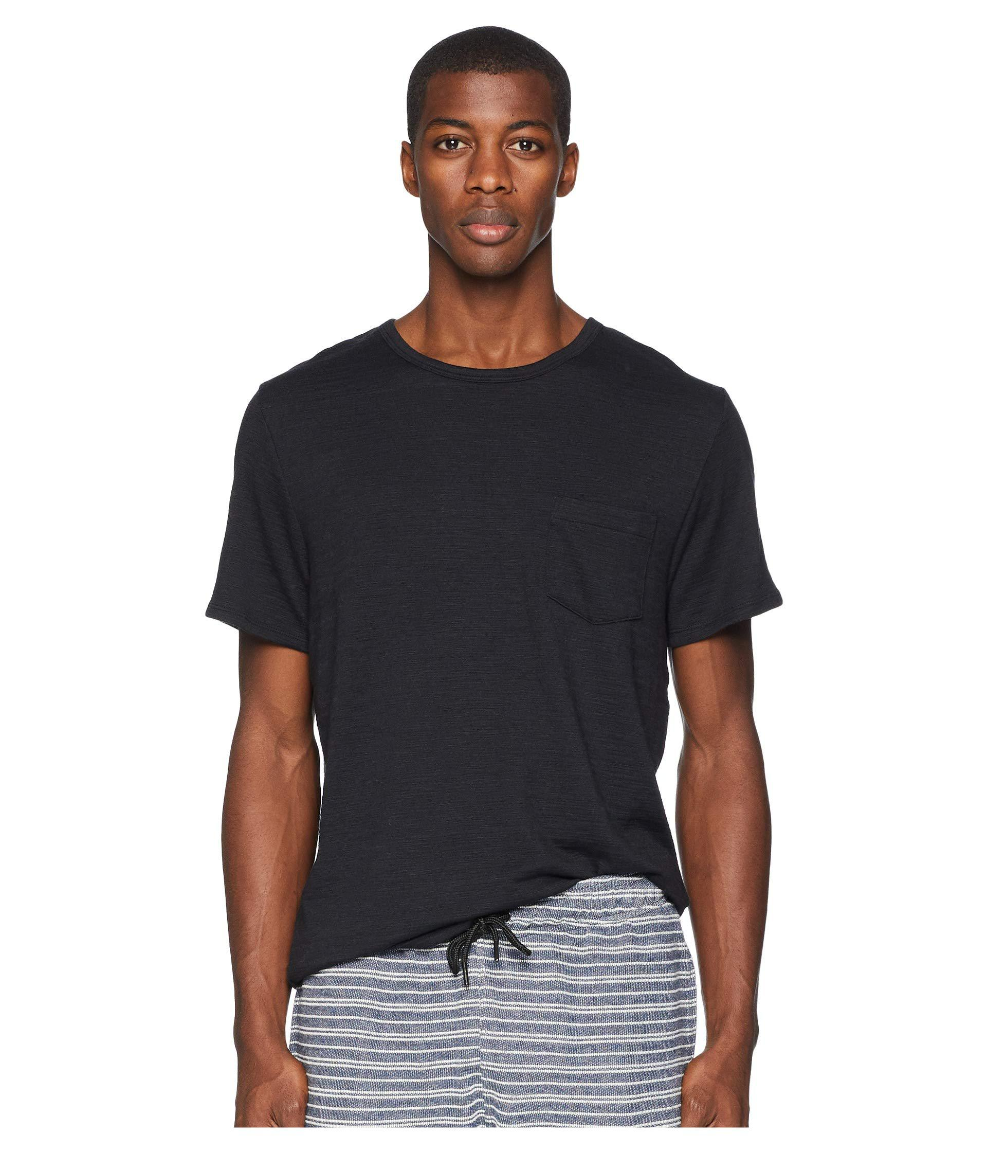6790acffe92e Lyst - Onia Chad Short Sleeve Pocket Tee (sea Fog) Men s T Shirt in ...