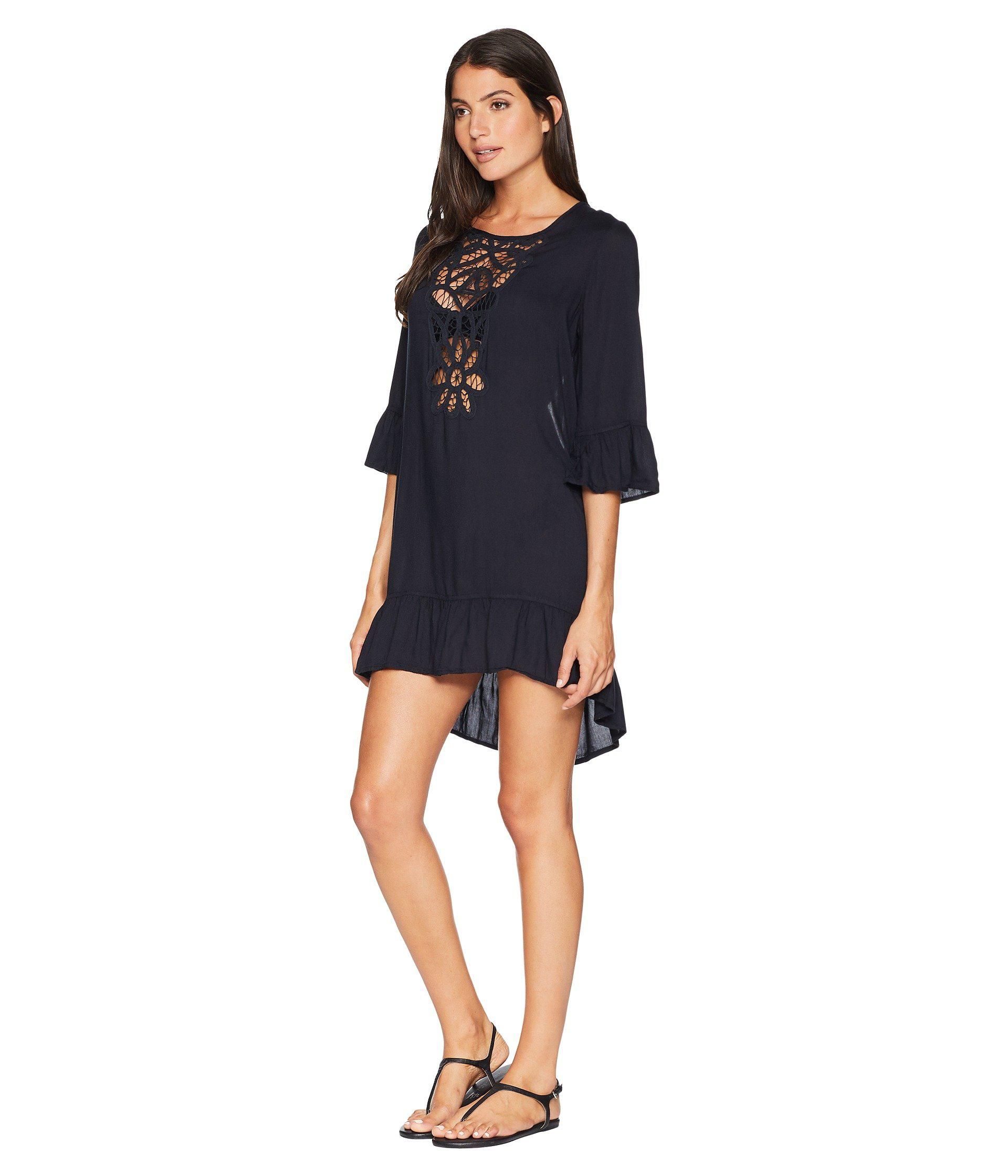 Lyst Roxy Goldy Soul Long Sleeve Dress Cover Up Marshmallow