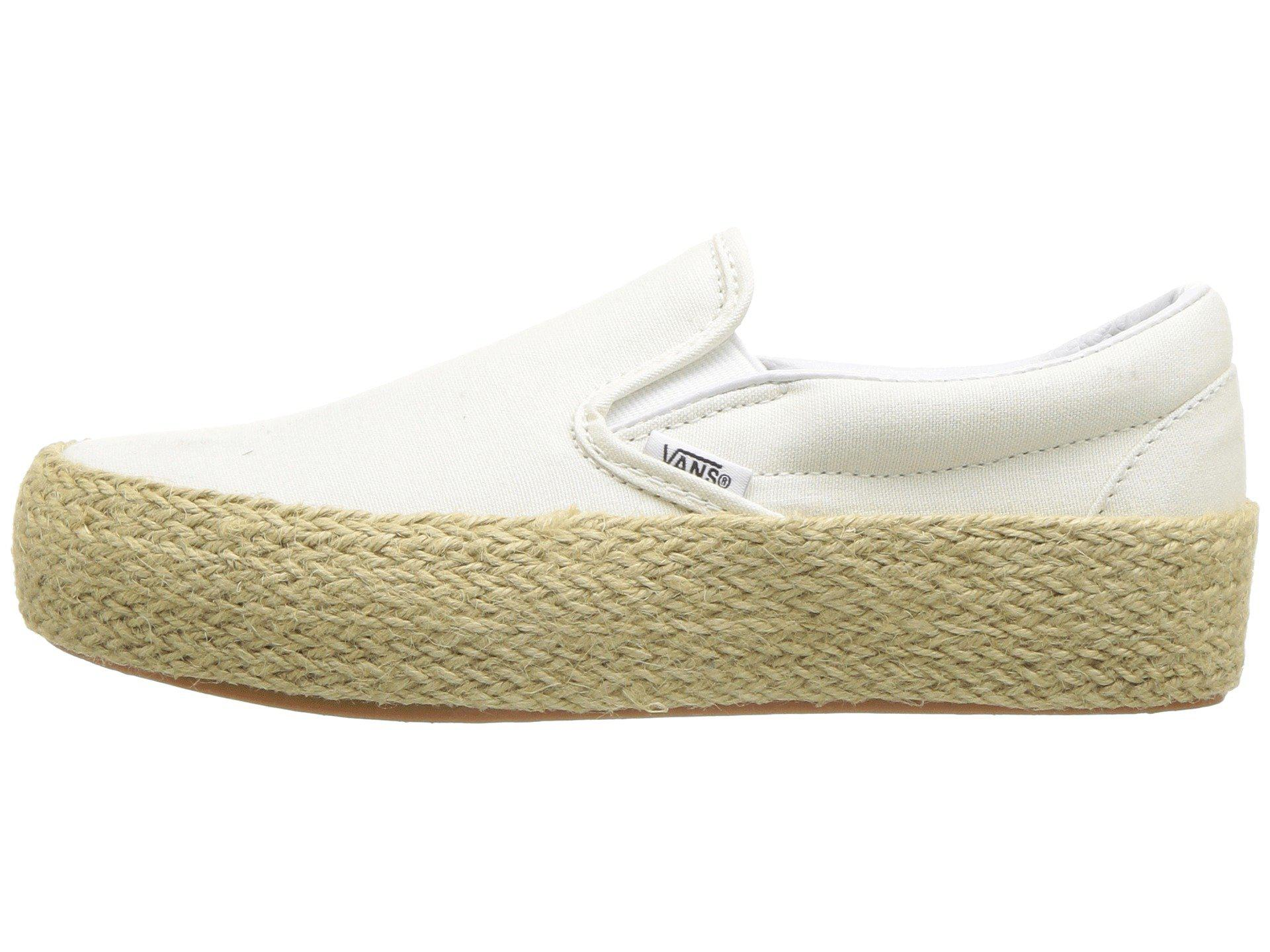 Slip-on Platform Sf (marshmallow) Skate Shoes