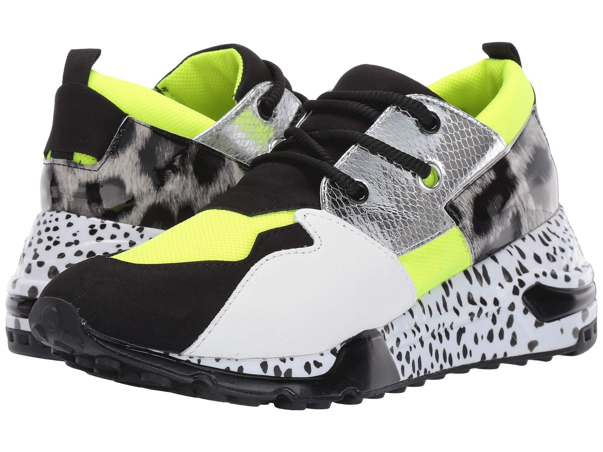 Steve Madden Cliff Sneakers in Lime
