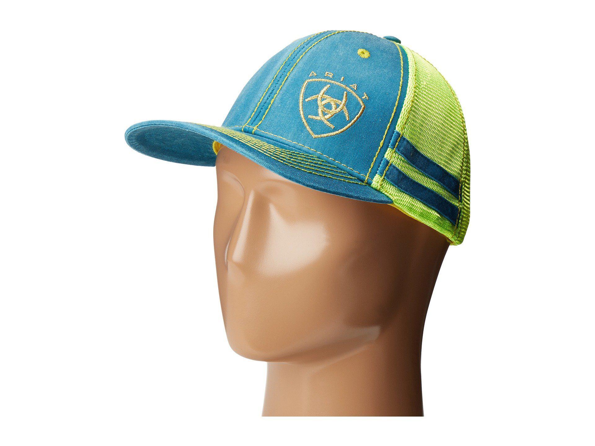 Lyst - Ariat 1594733 (turquoise) Caps 5a995cc6486