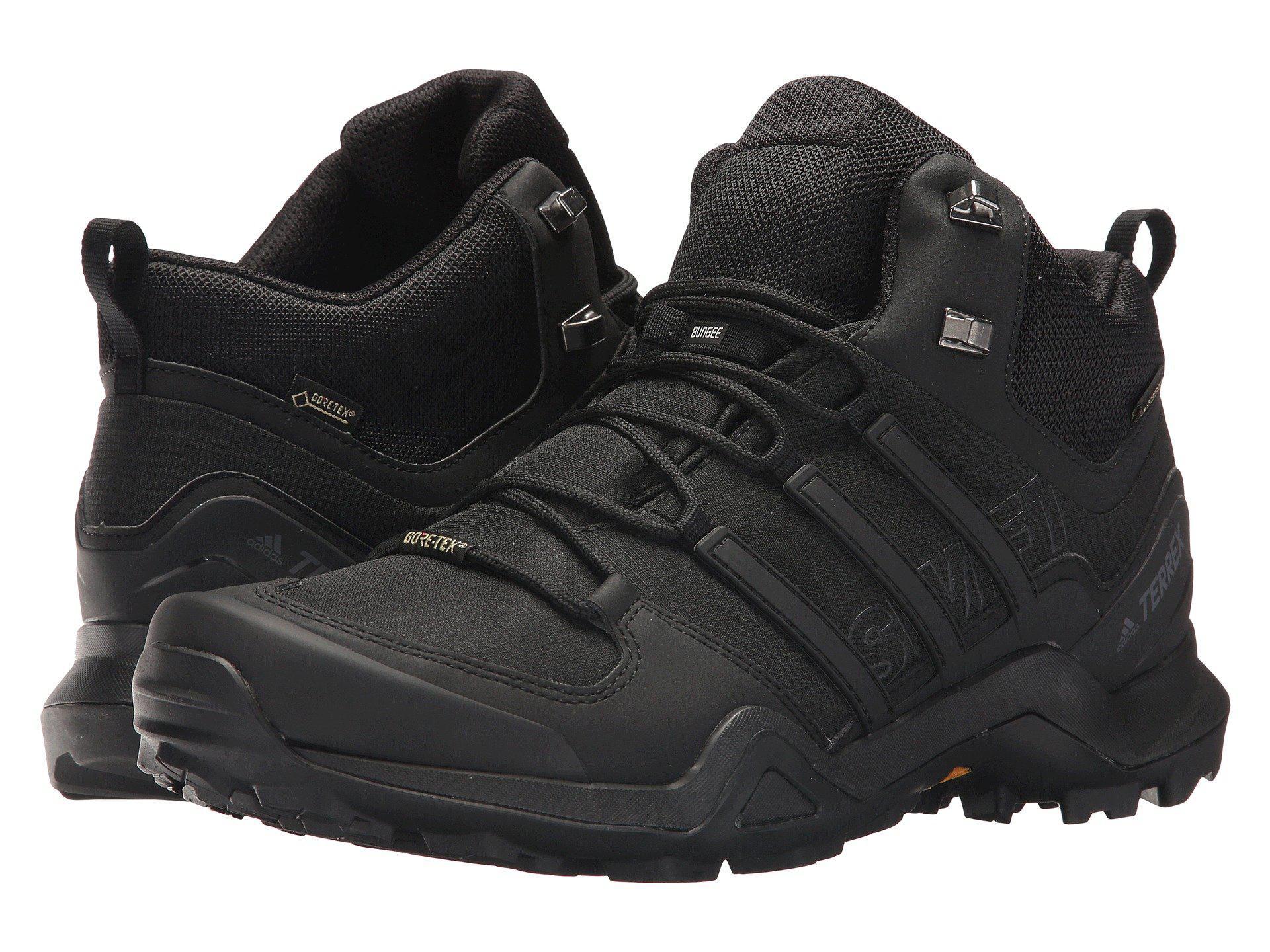 adidas men 's terrex swift r2 mid gtx cross trainers core black
