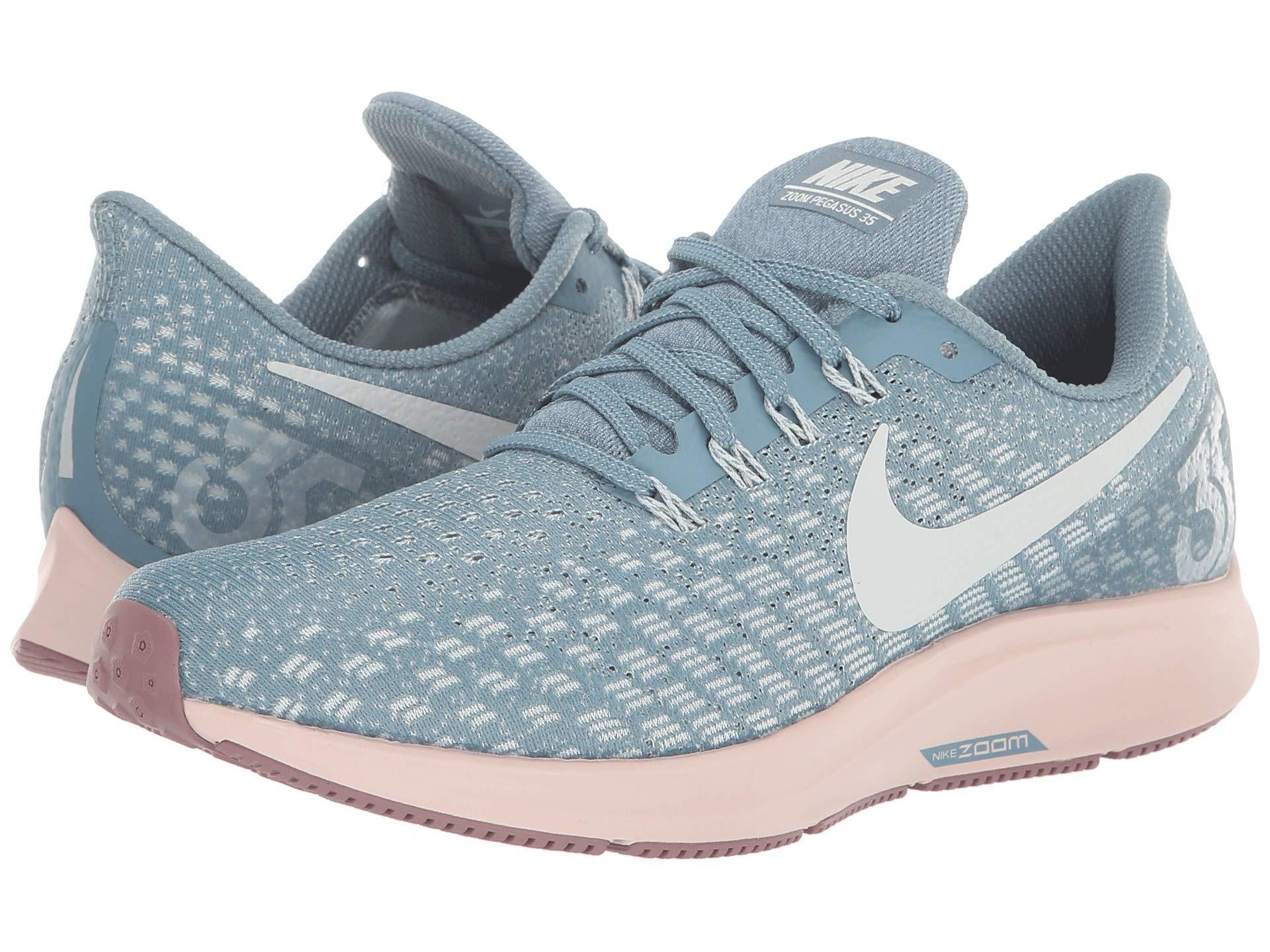 e729599d29c Lyst - Nike Air Zoom Pegasus 35 (vast Grey black pink Foam lime ...