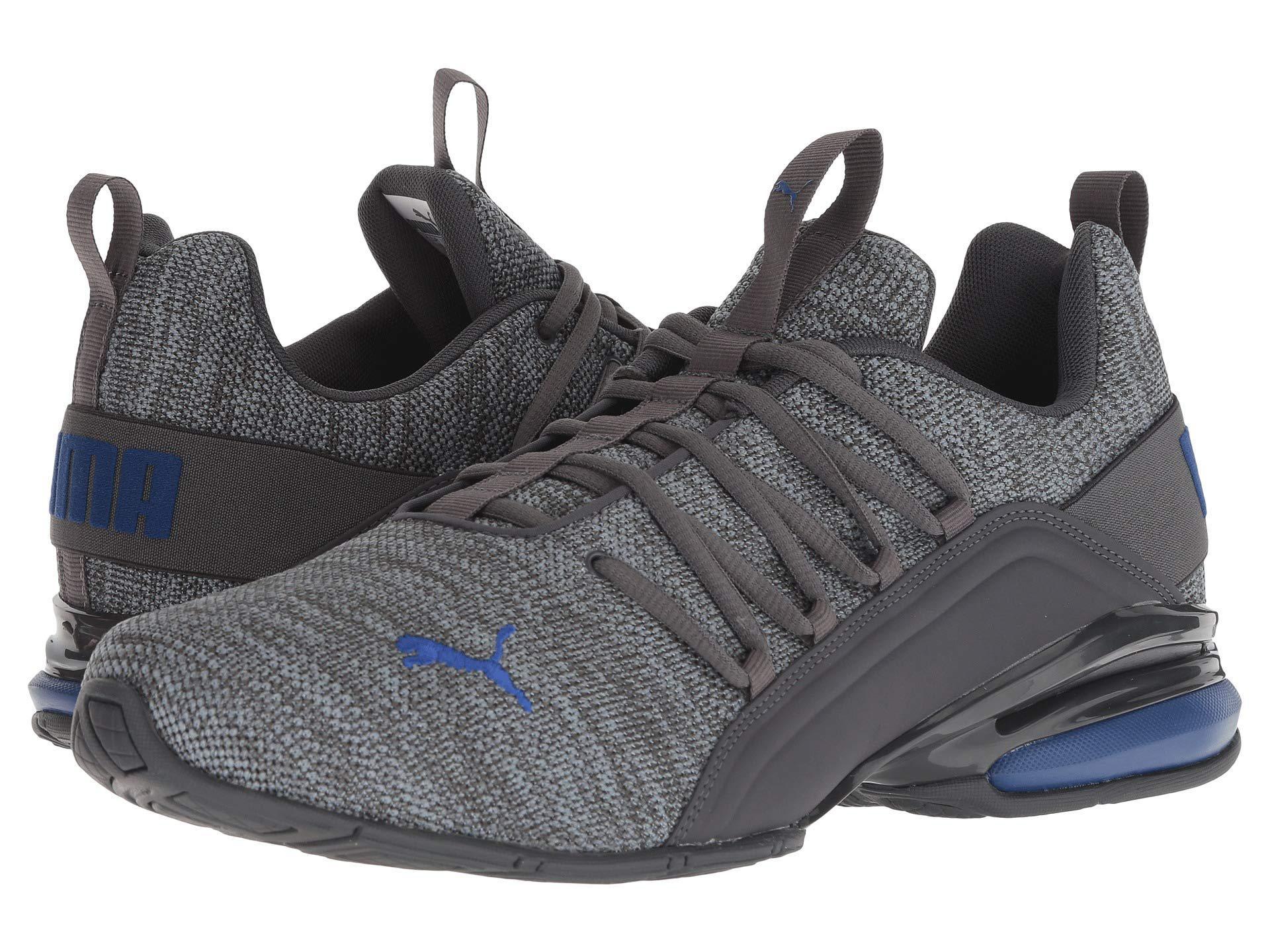 8bd01270f855 Lyst - PUMA Axelion ( Black peacoat) Men s Shoes for Men