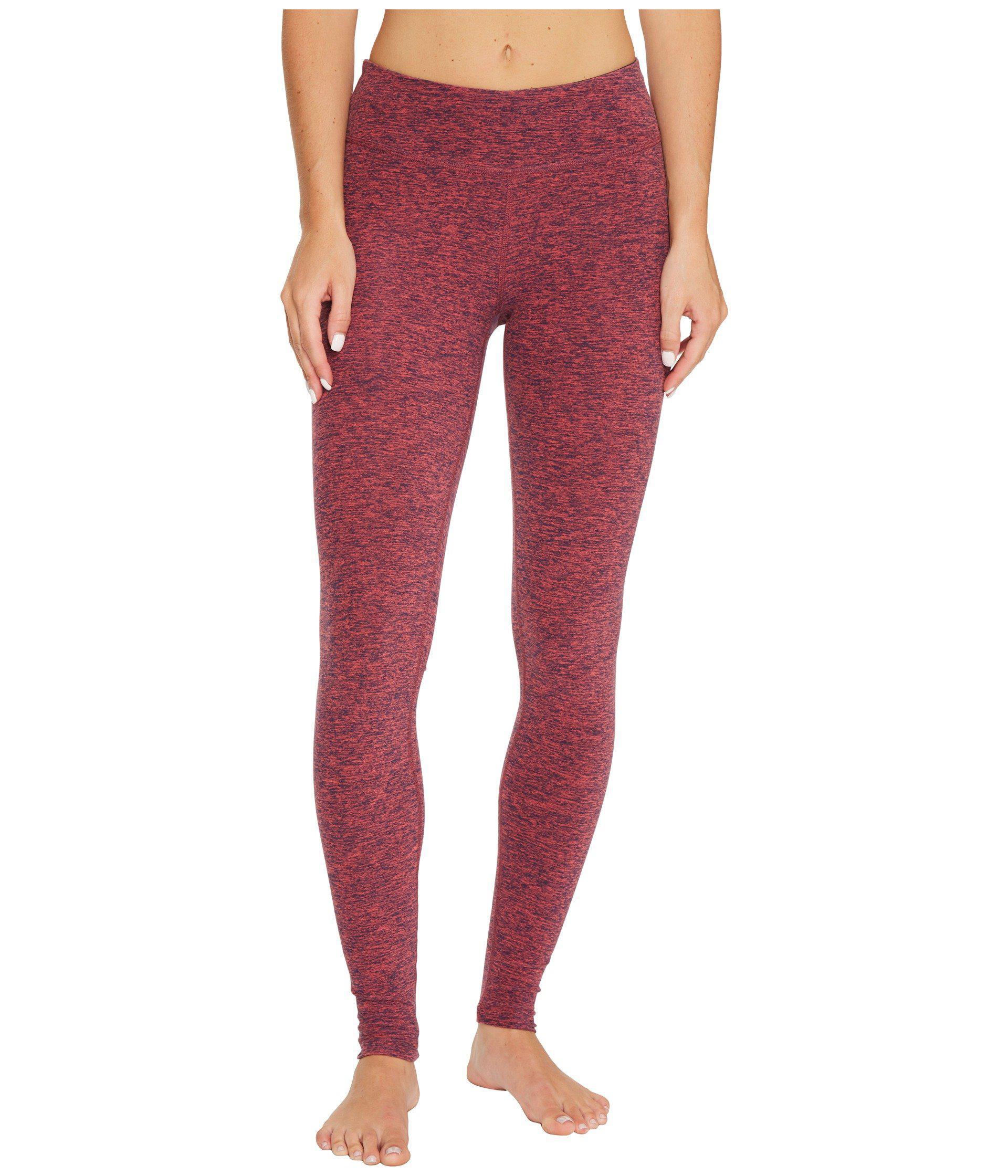 8d574146a3287 Beyond Yoga Spacedye Long Essential Leggings in Red - Lyst