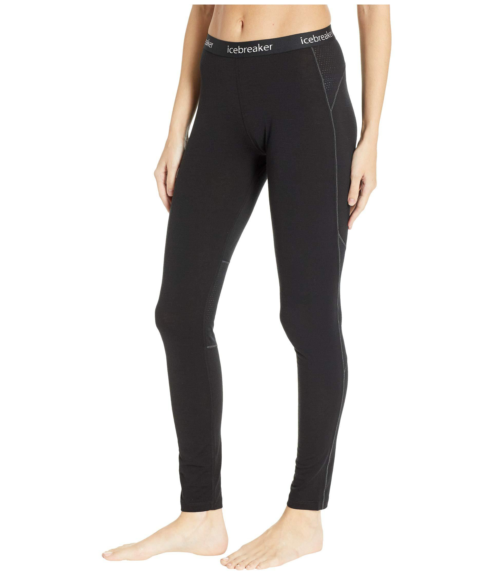 70673eca937 Lyst - Icebreaker 150 Zone Merino Base Layer Leggings (black/mineral) Women's  Casual Pants in Black