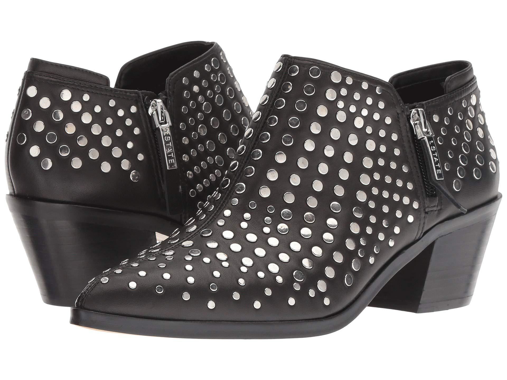 1 State Leather Lexey Black Eco Sheep Shoes Lyst