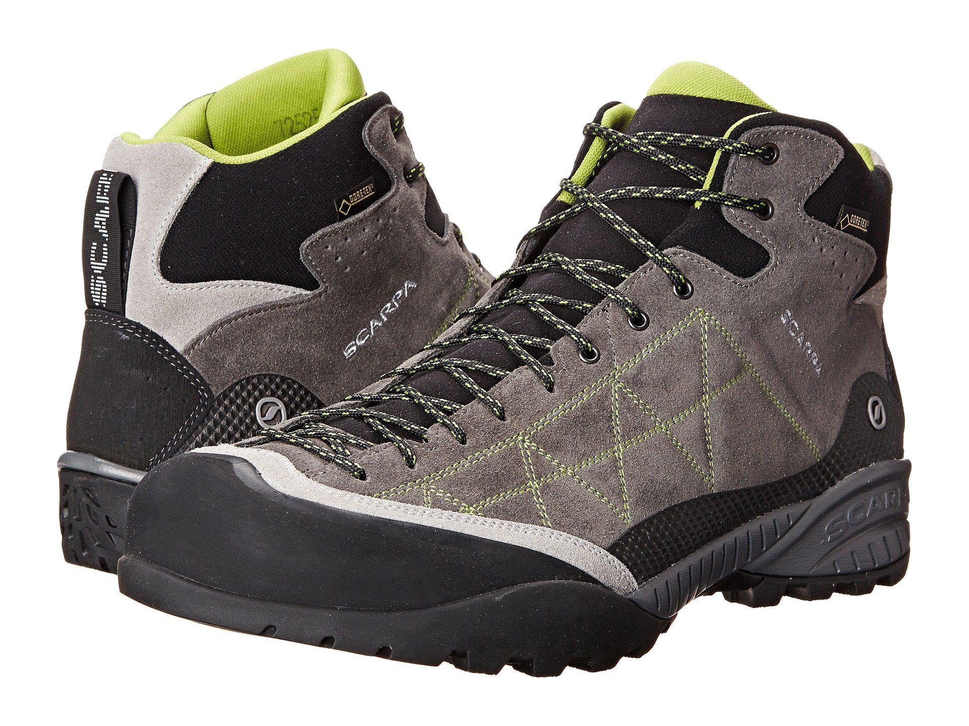 2110addd08 Lyst - SCARPA Zen Pro Mid Gtx(r) (shark spring) Men s Shoes in Gray ...