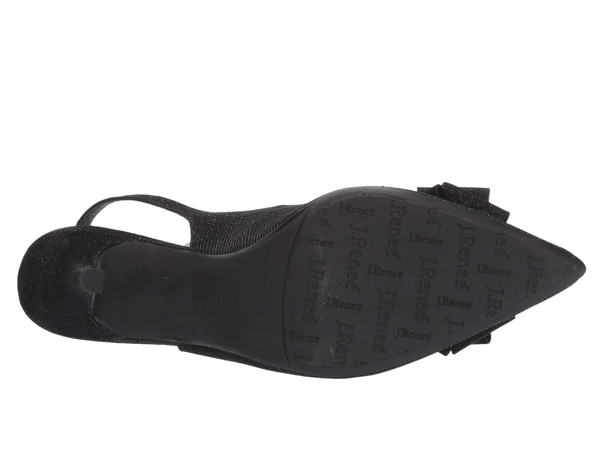 0083fc90def J. Reneé - Black Denyell (silver Glitter) High Heels - Lyst. View fullscreen