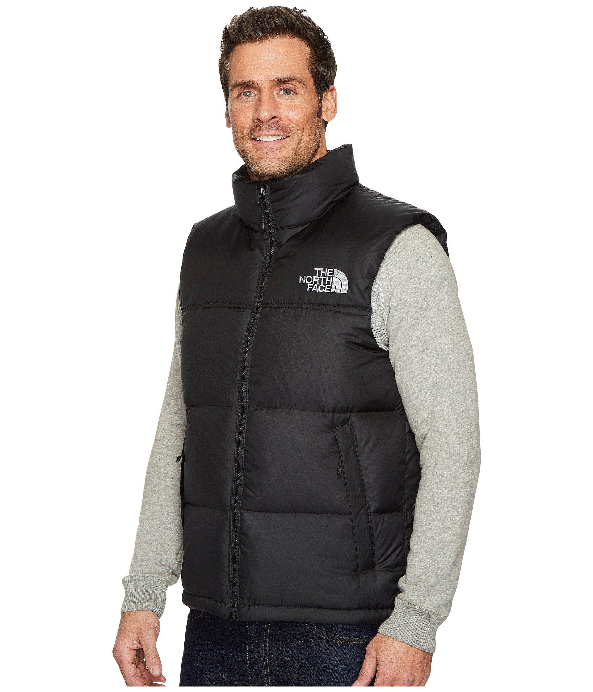 ... authentic lyst the north face novelty nuptse vest in black for men  aade4 e341f 114c7be0a