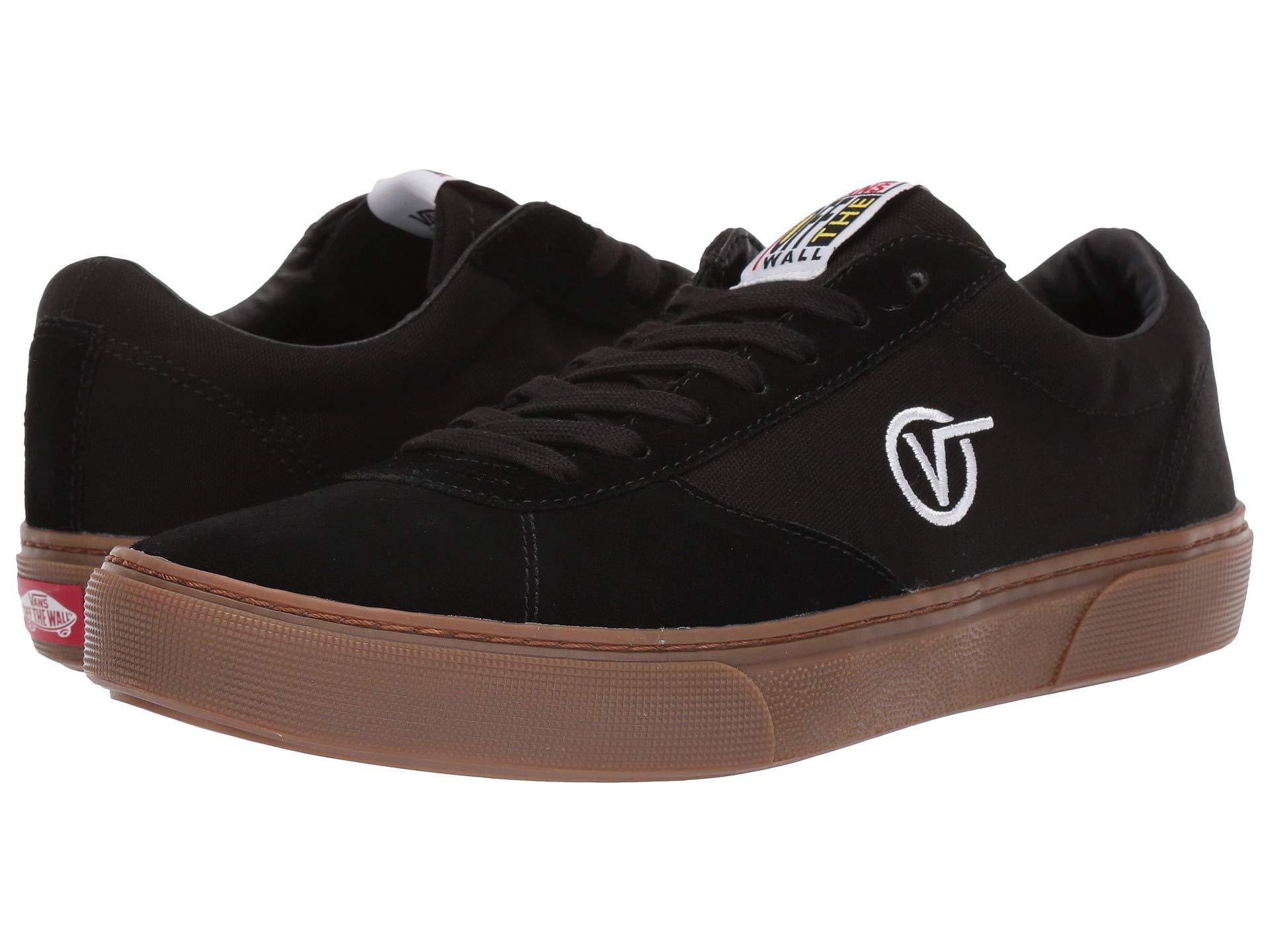 11752ef0689e Lyst - Vans Paradoxxx (yolk Yellow) Shoes in Black for Men