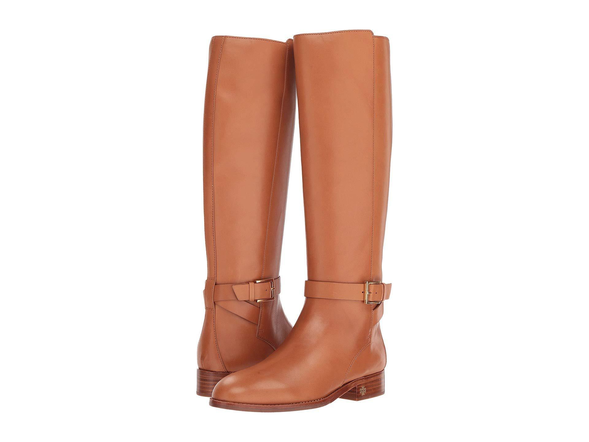 f078fb35dd58 Lyst - Tory Burch Brooke 25mm Knee Boot (perfect Black) Women s ...