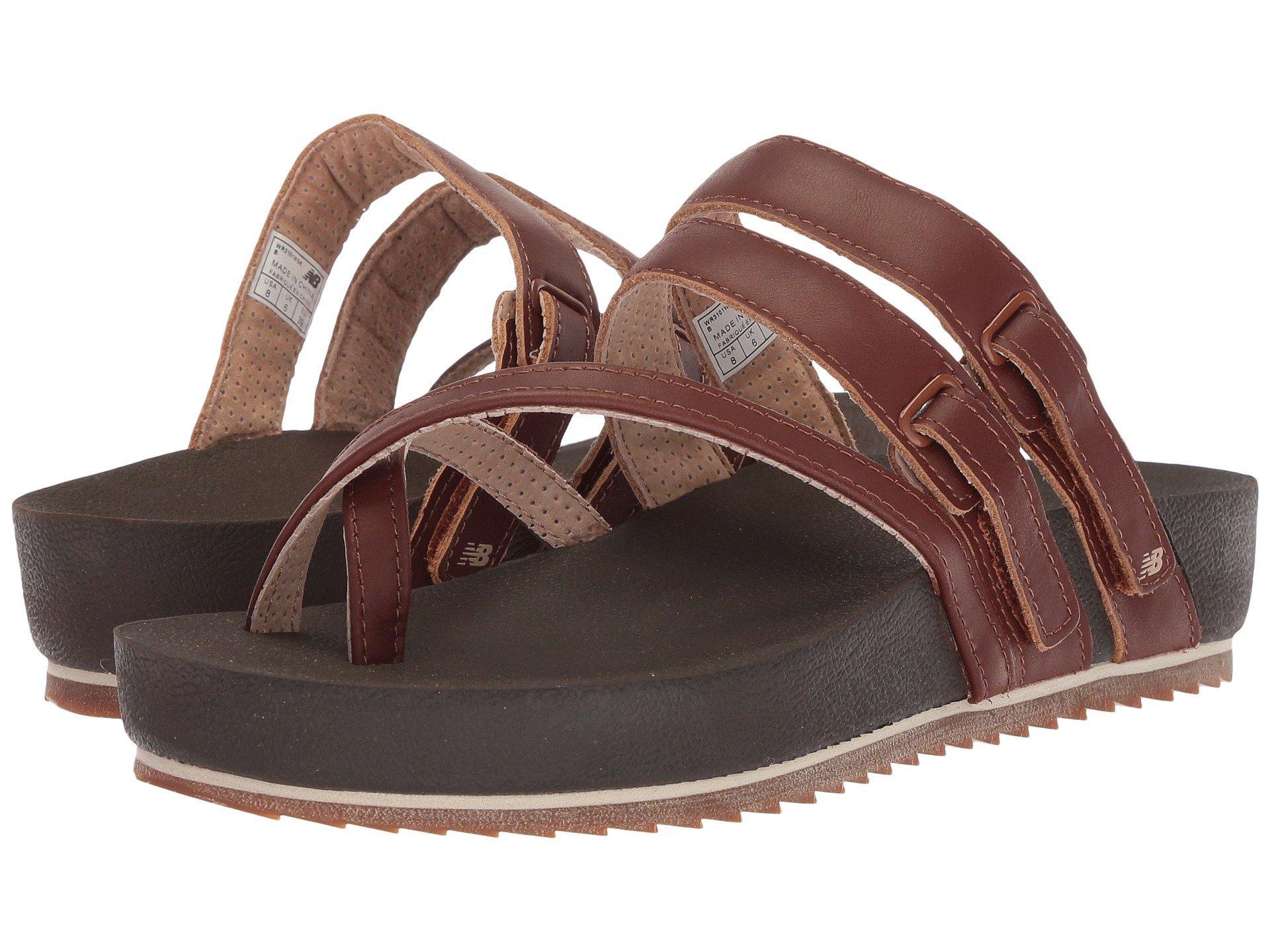 New Balance Leather Traveler Sandal in