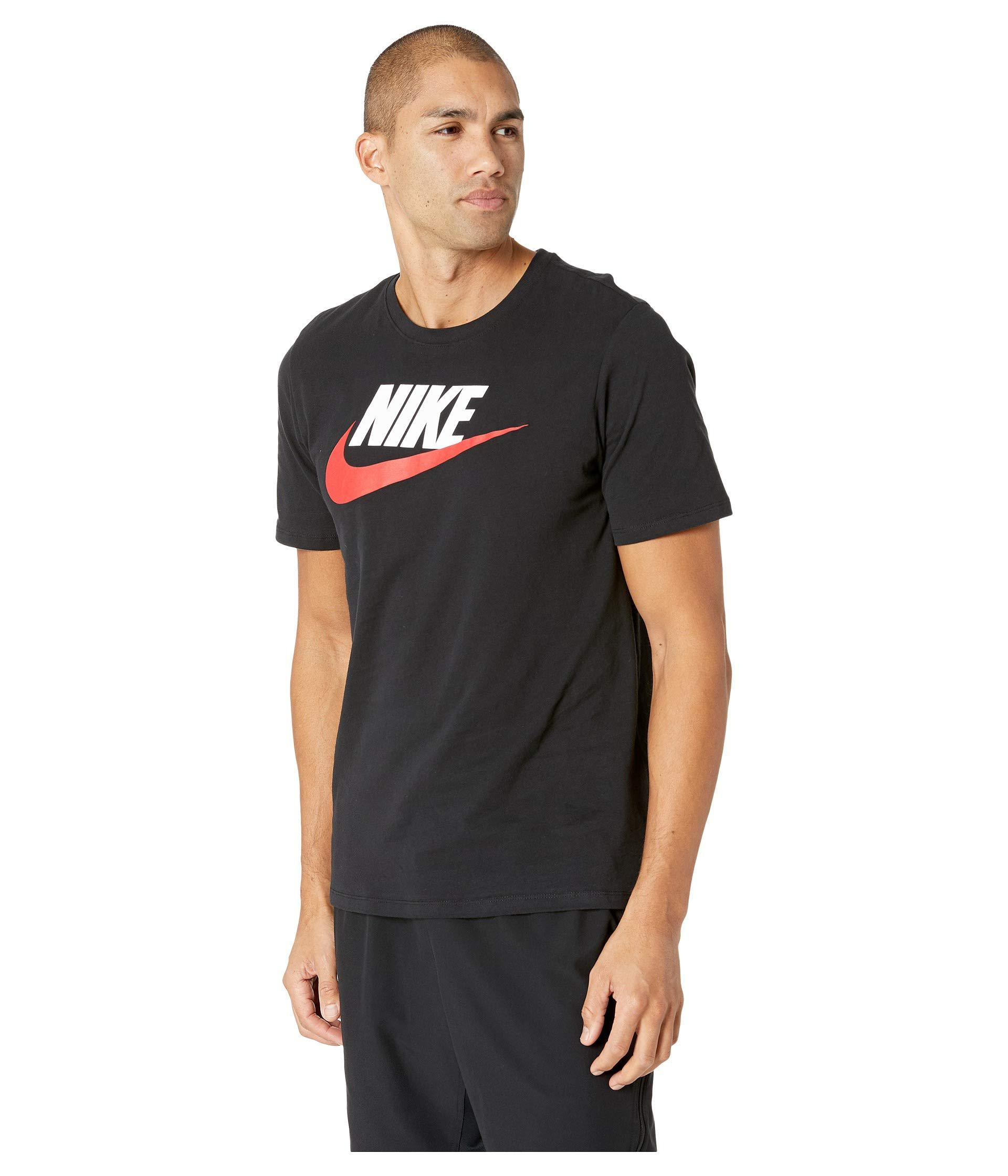 0cde6a0589f Nike Sportswear Icon Short Sleeve T Shirt Mens – EDGE Engineering ...