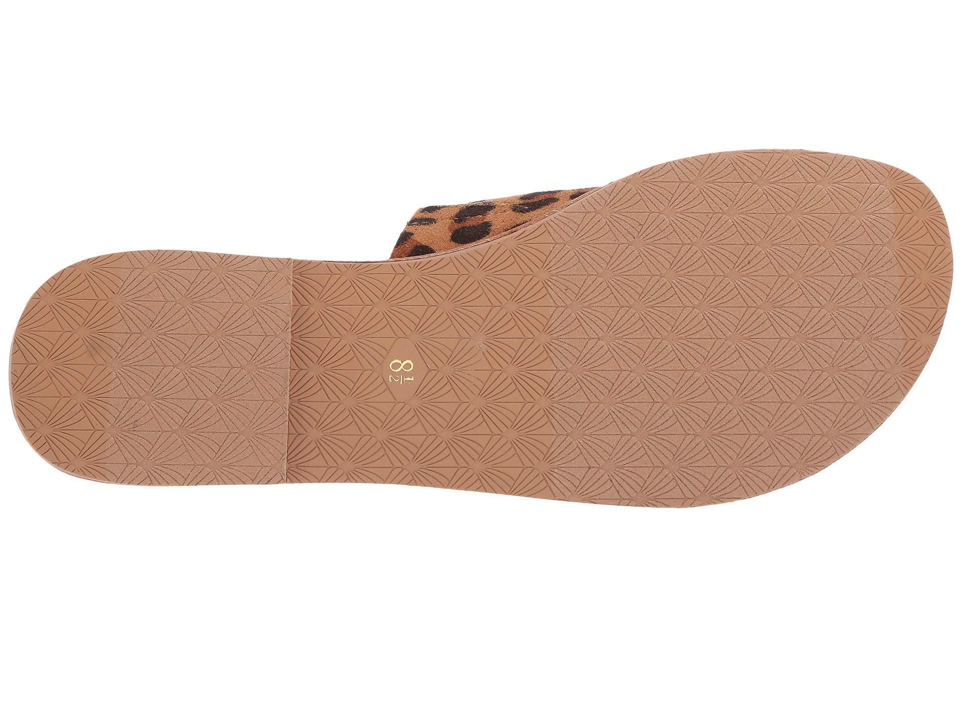 4c9c363a3de2 Ariat - Brown Unbridled Ellie (leopard Suede) Women s Sandals - Lyst. View  fullscreen