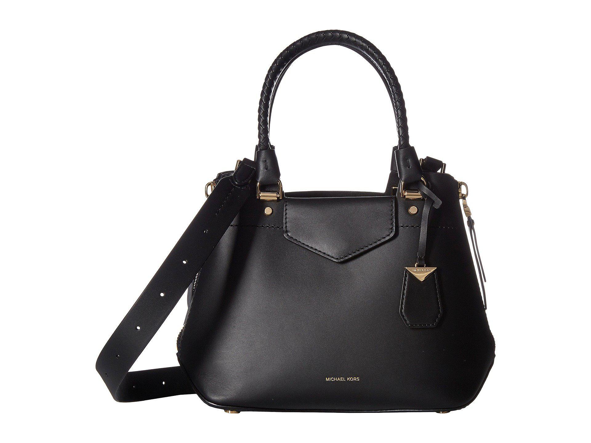 Blakely Medium Messenger Bag in Black Viola Leather Michael Michael Kors M7d3oh