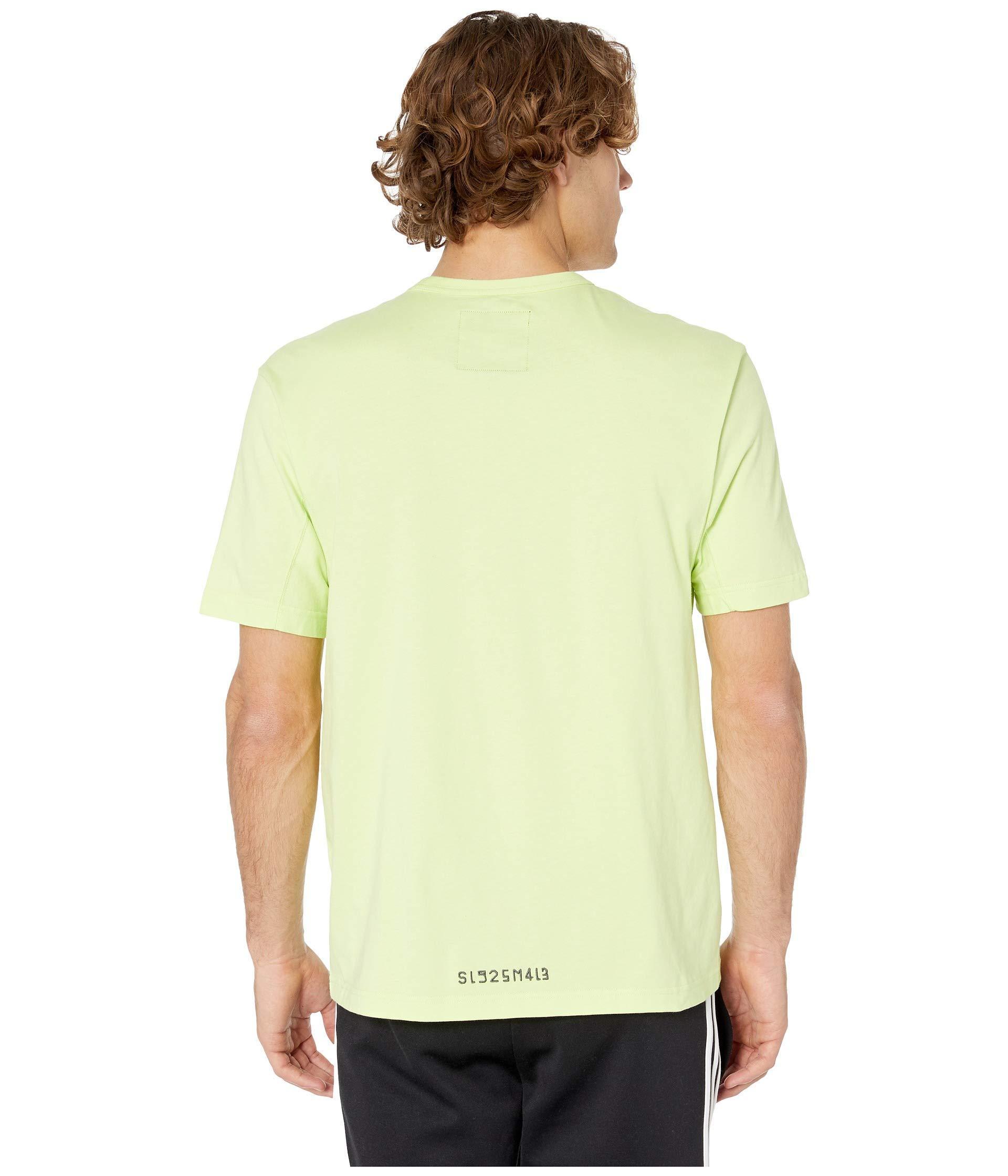 75734c1a5b4 adidas Originals Kaval Graphic Tee (semi Frozen Yellow) Men's T ...