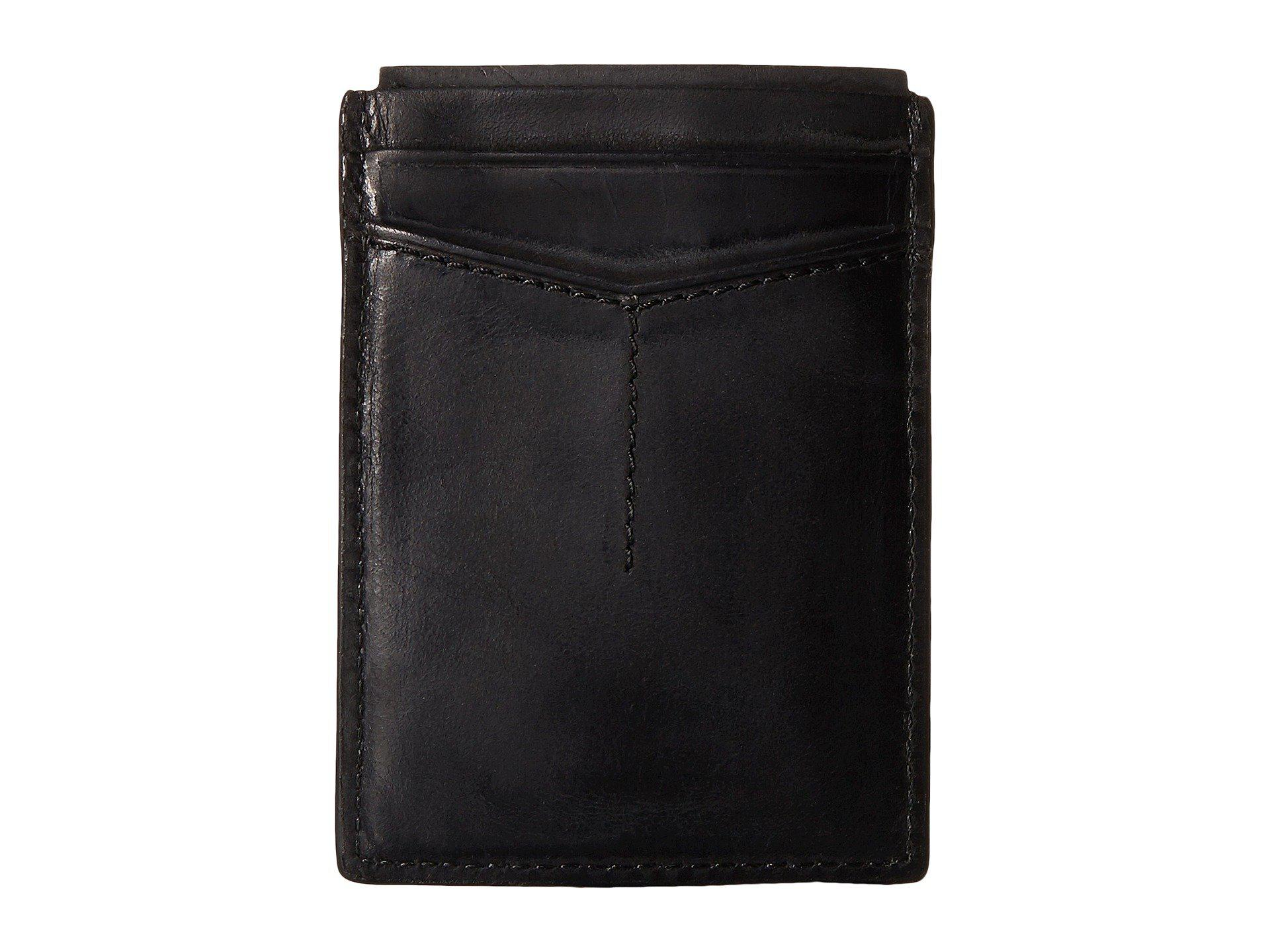 Lyst - Fossil Quinn Magnetic Card Case in Black