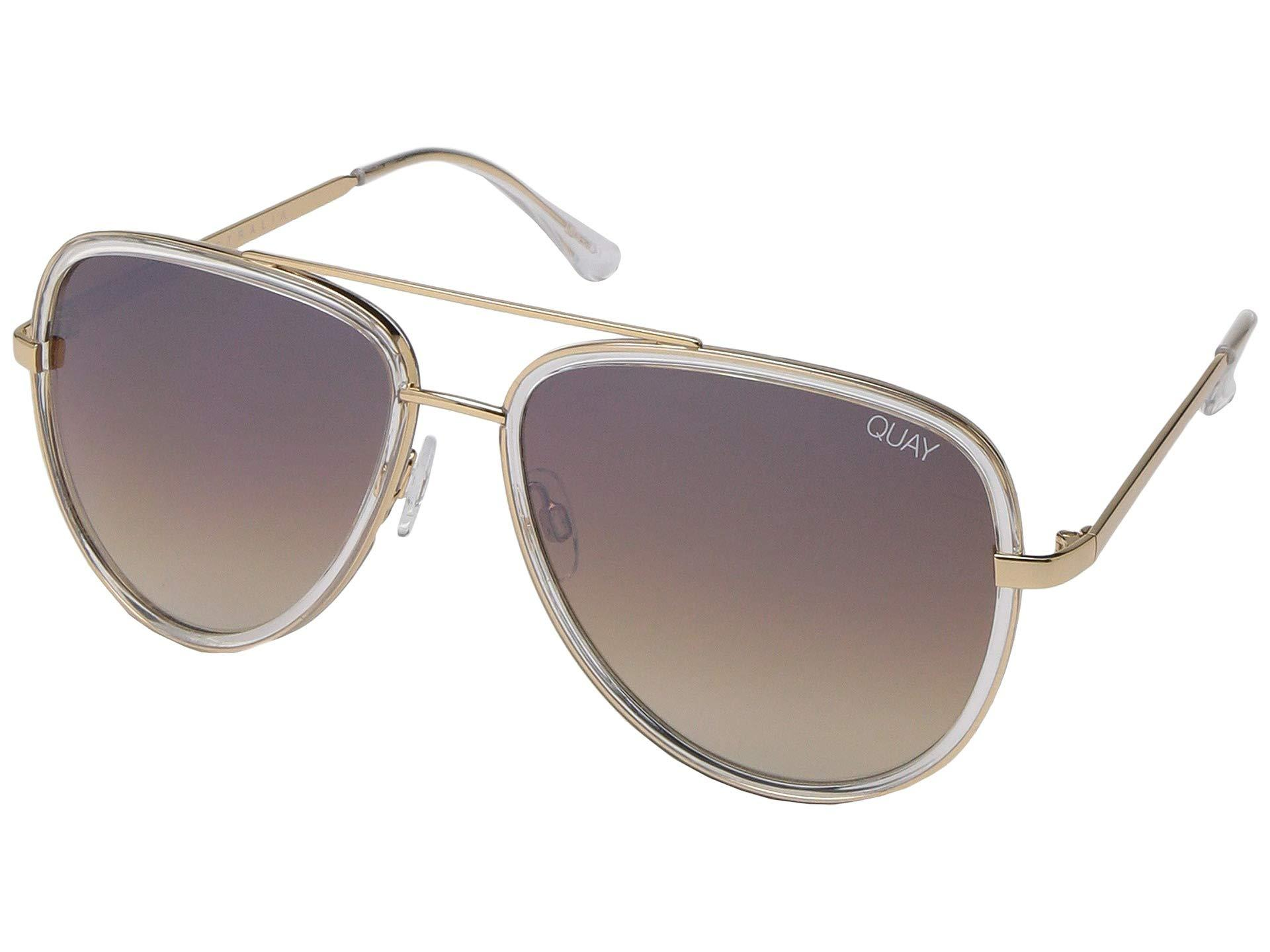 3d484ff0e703b Quay - Quay X Jlo All In (clear brown) Fashion Sunglasses - Lyst. View  fullscreen