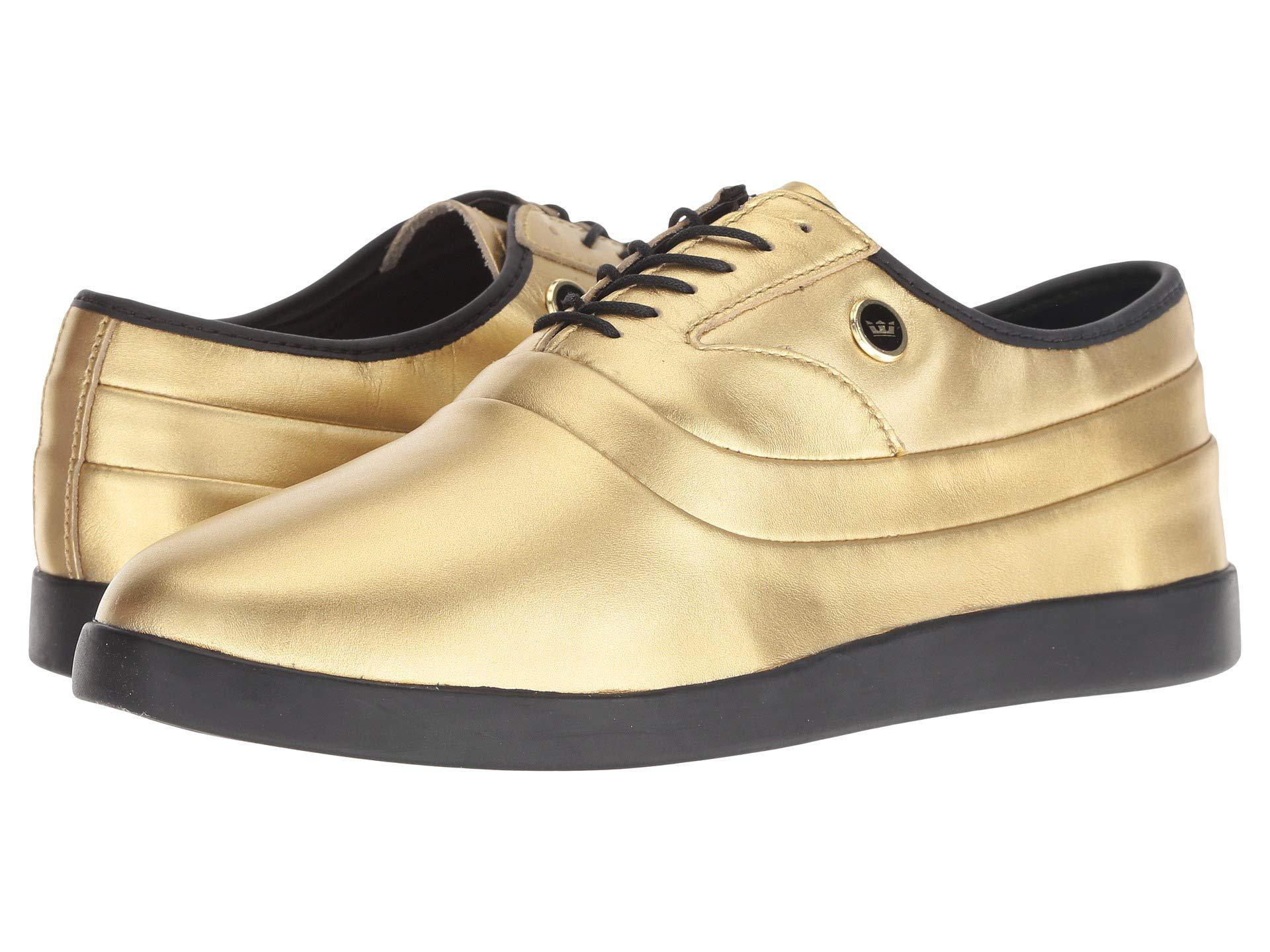 Supra Leather Greco (gold/black) Men's