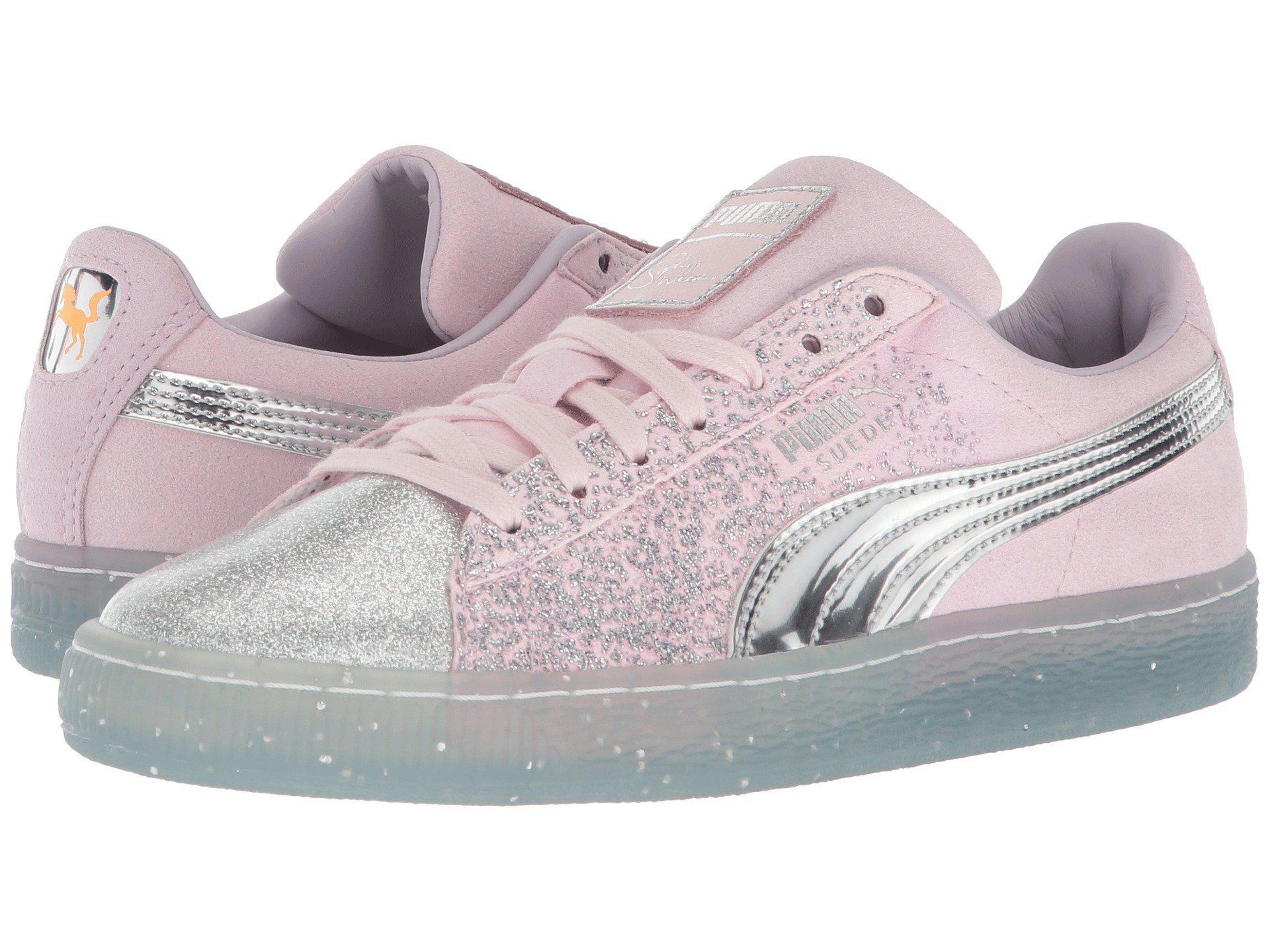 pink glitter pumas new arrivals b7f7b 871df