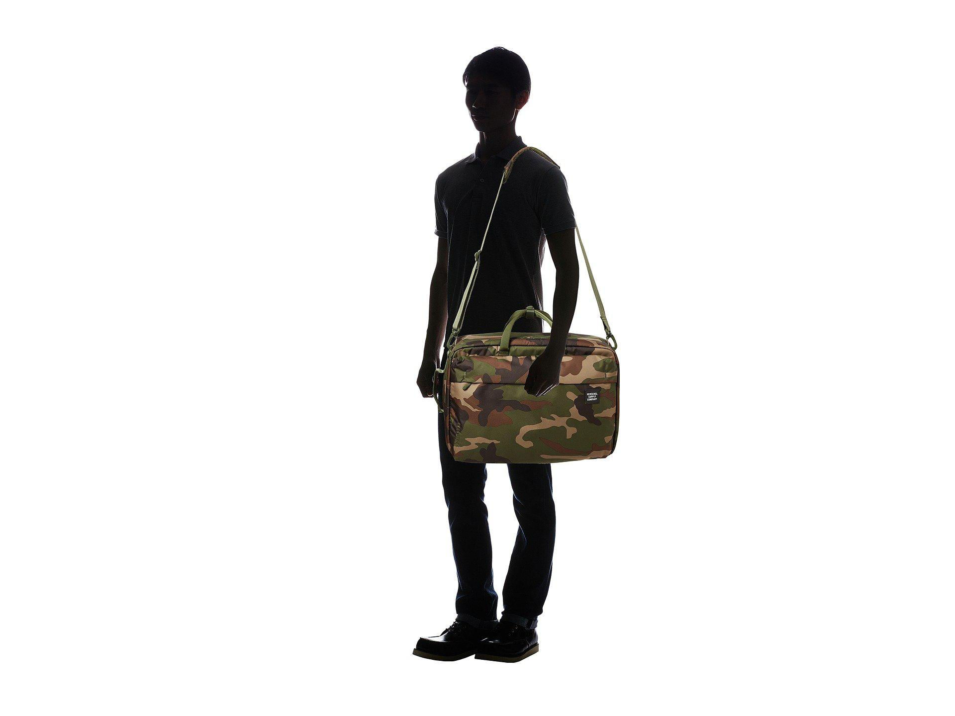 77dcaa0d9d2 Herschel Supply Co. - Green Britannia Xl (arrowwood) Messenger Bags for Men  -. View fullscreen