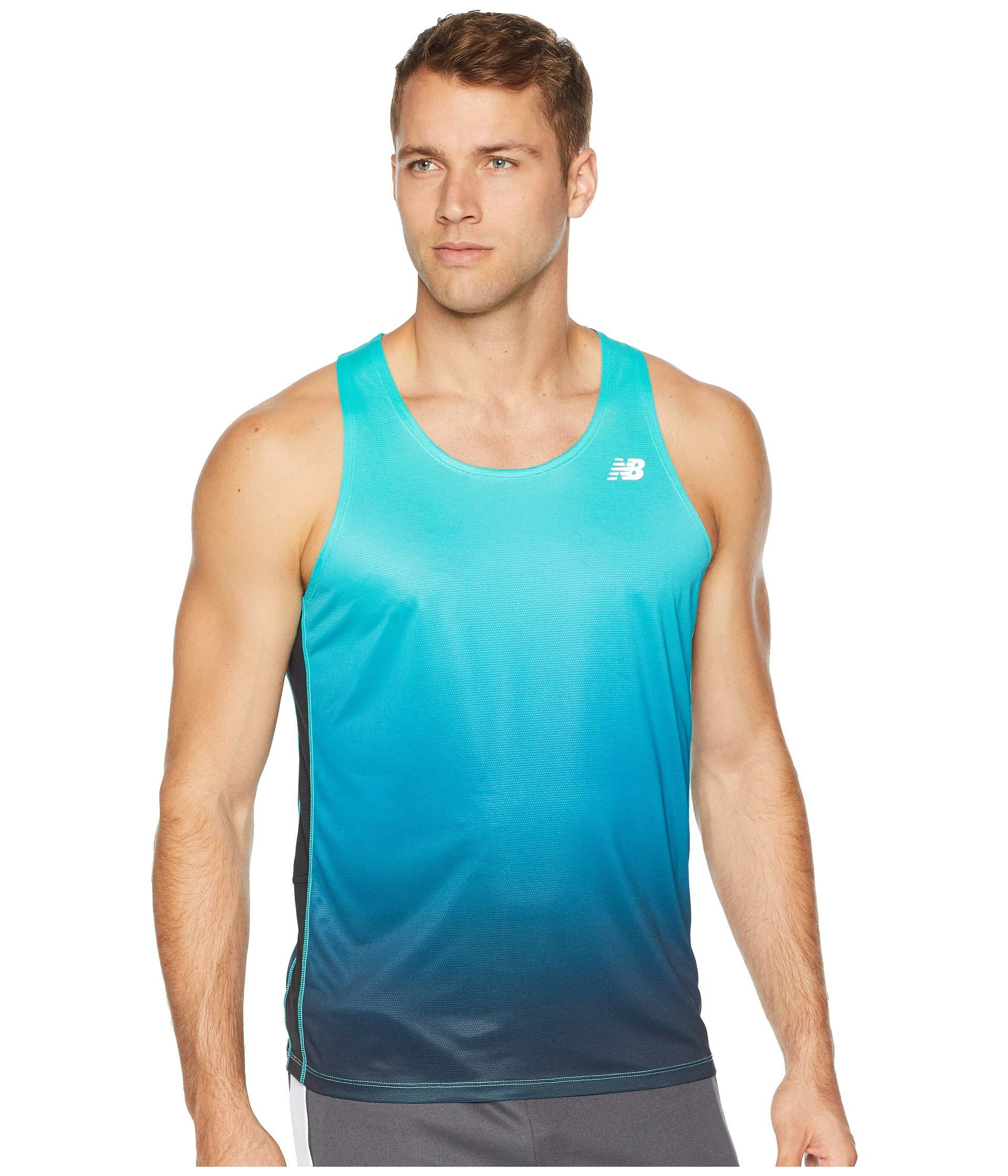 new balance accelerate singlet