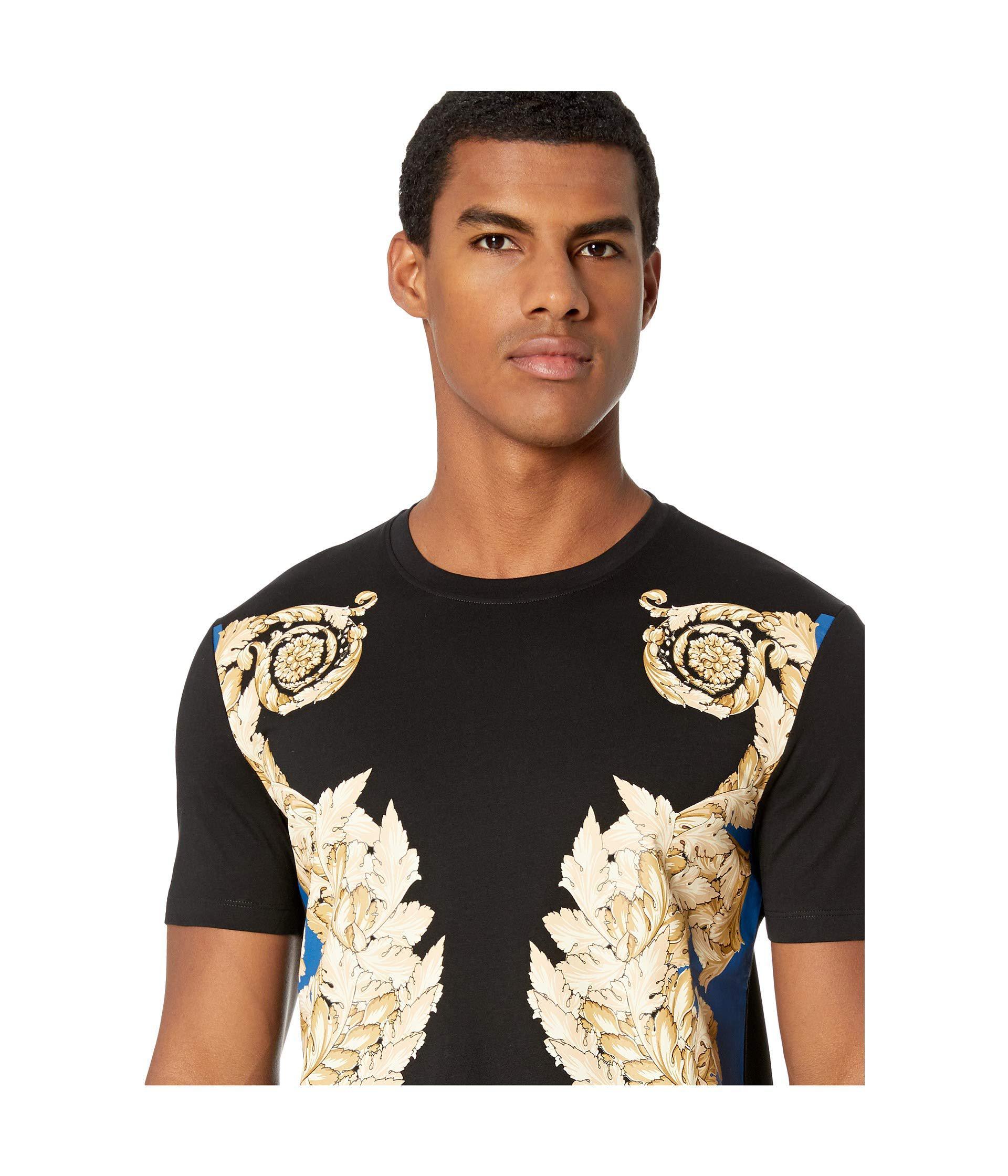 Versace Collection Mens Filigree T-Shirt