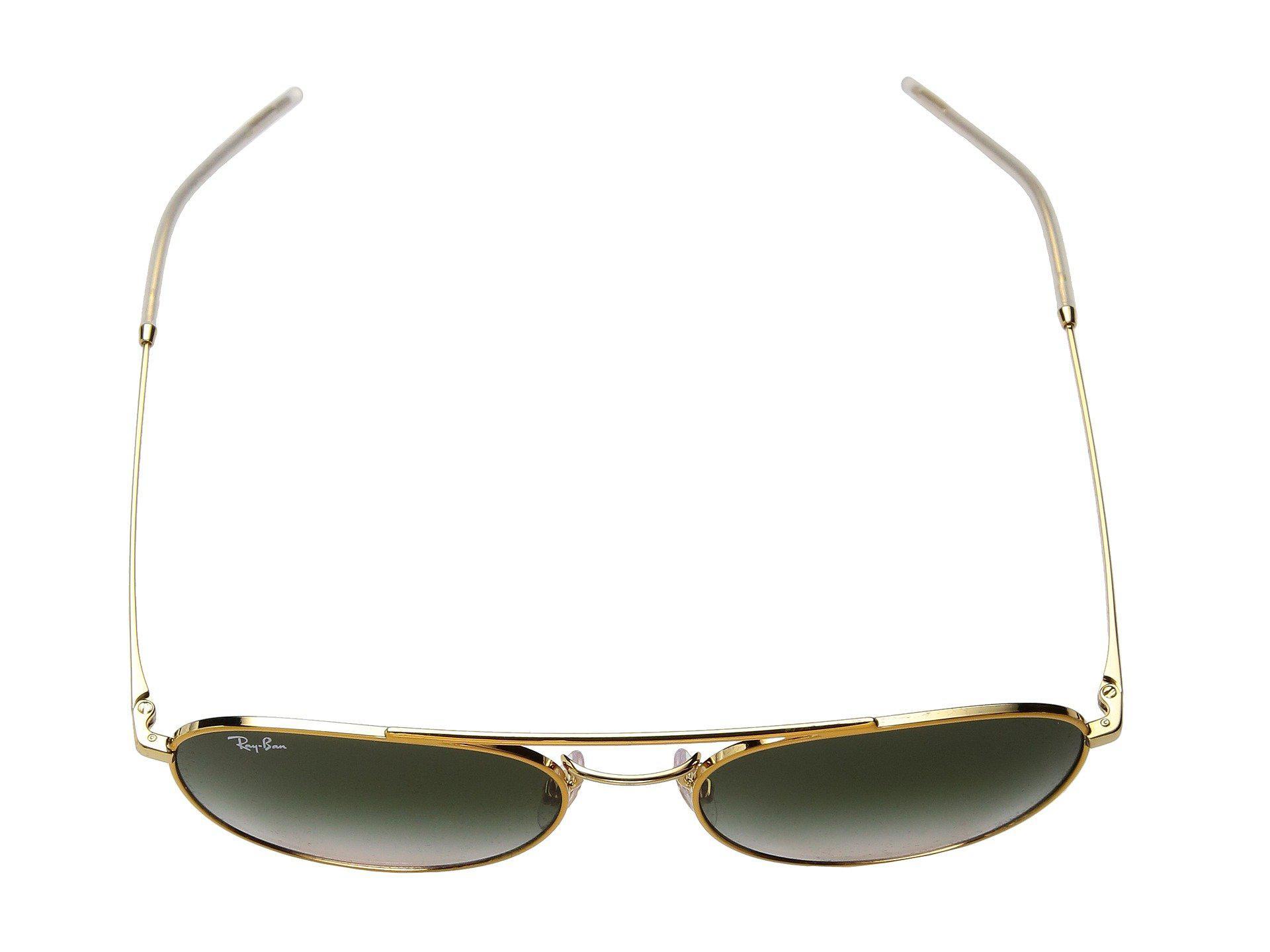 67f835cbab6 Lyst - Ray-Ban Rb3589 55mm (yellow light Brown Gradient) Fashion ...