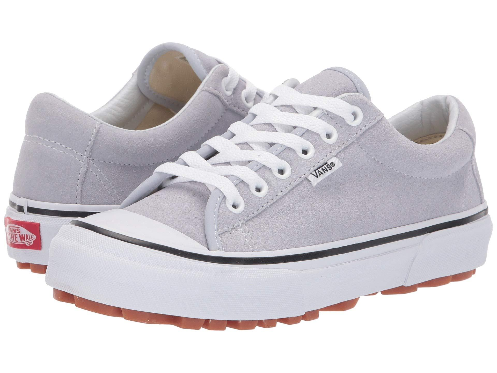 Vans Suede Style 29 in Gray (White) for Men - Lyst