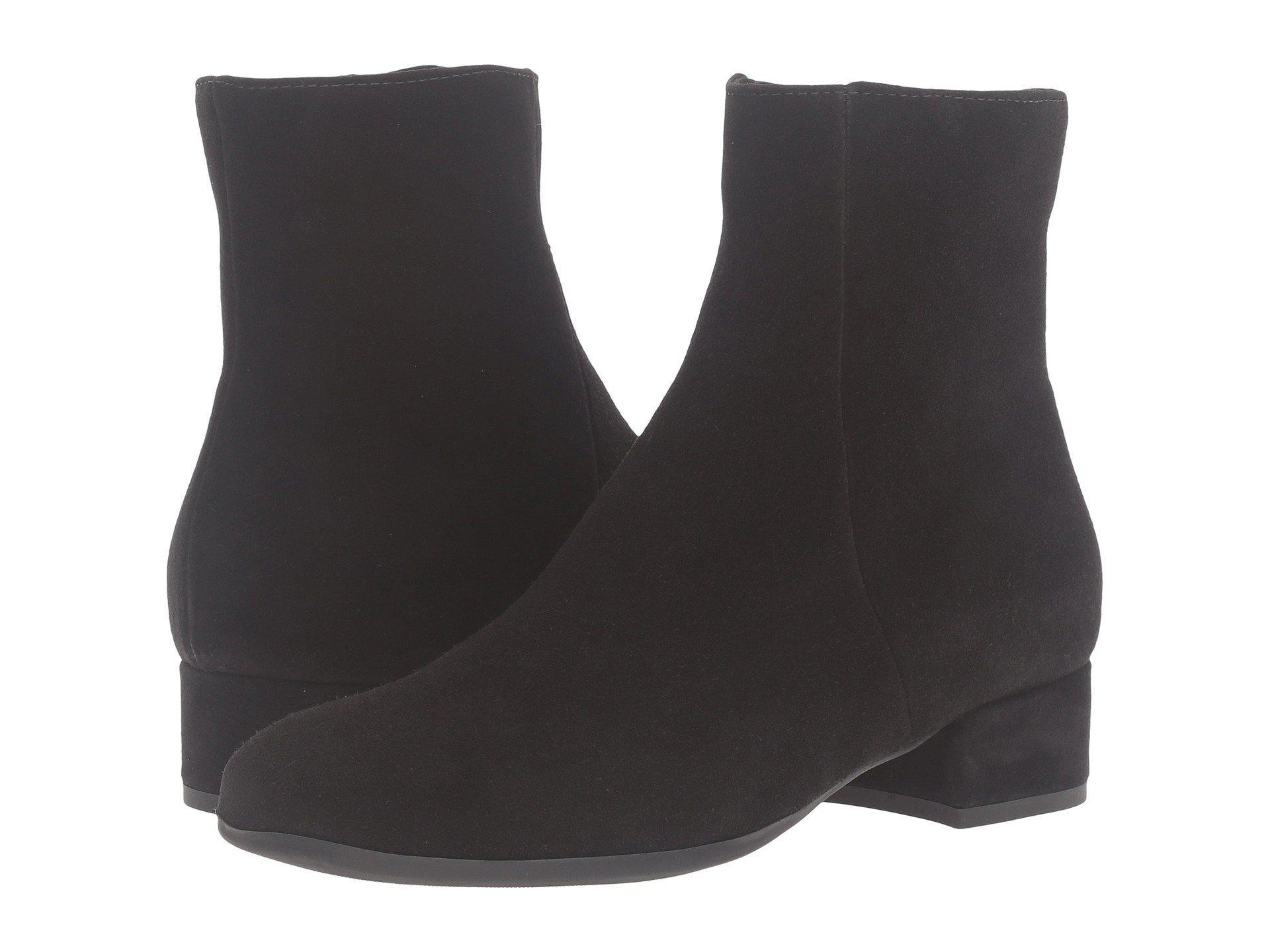 0f5a2aaa7c9 Lyst - La Canadienne Jillian (black Suede) Women s Boots in Black ...