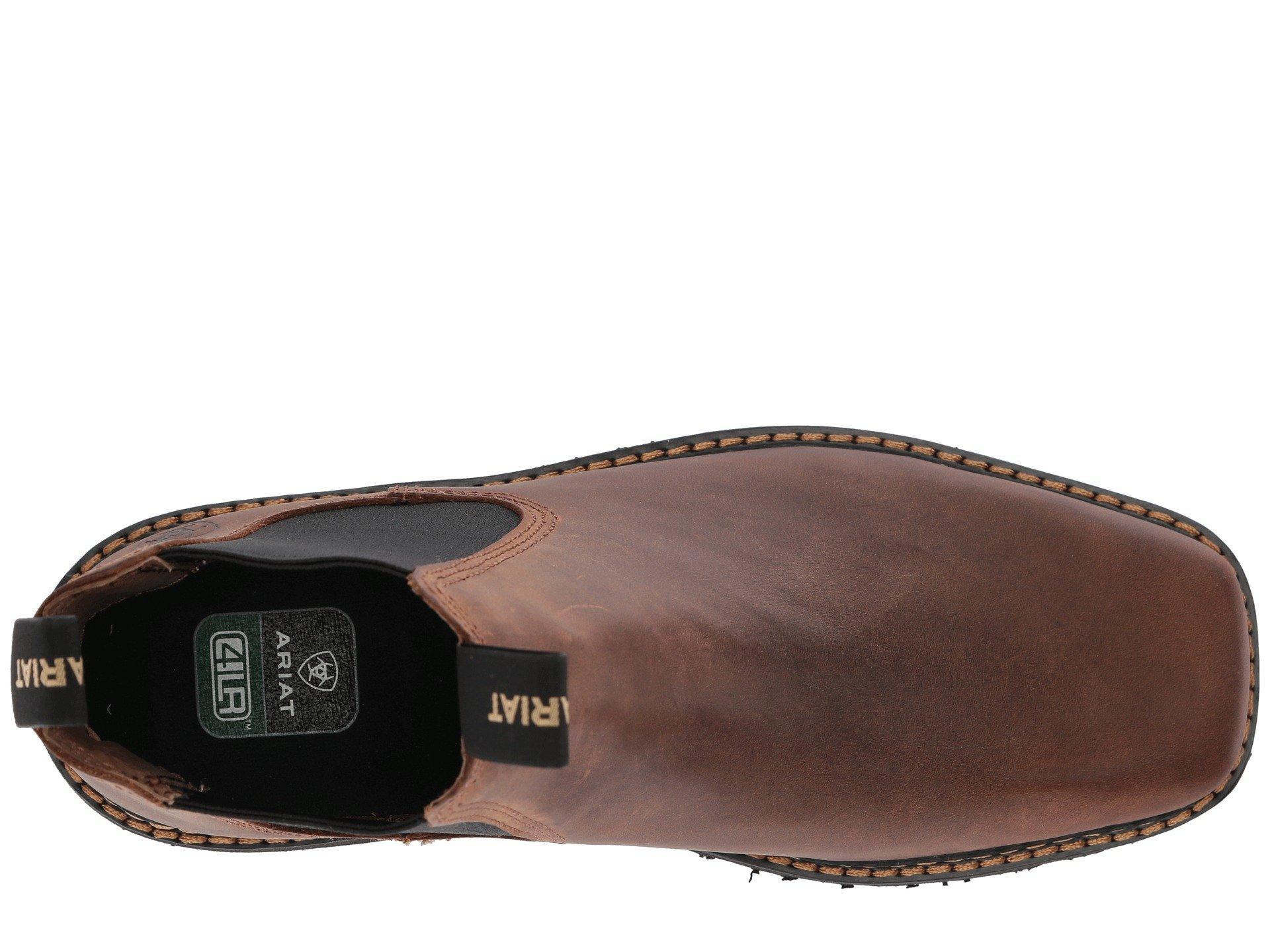 4df0185ad79 Men's Brown Spot Hog Wide Square Toe