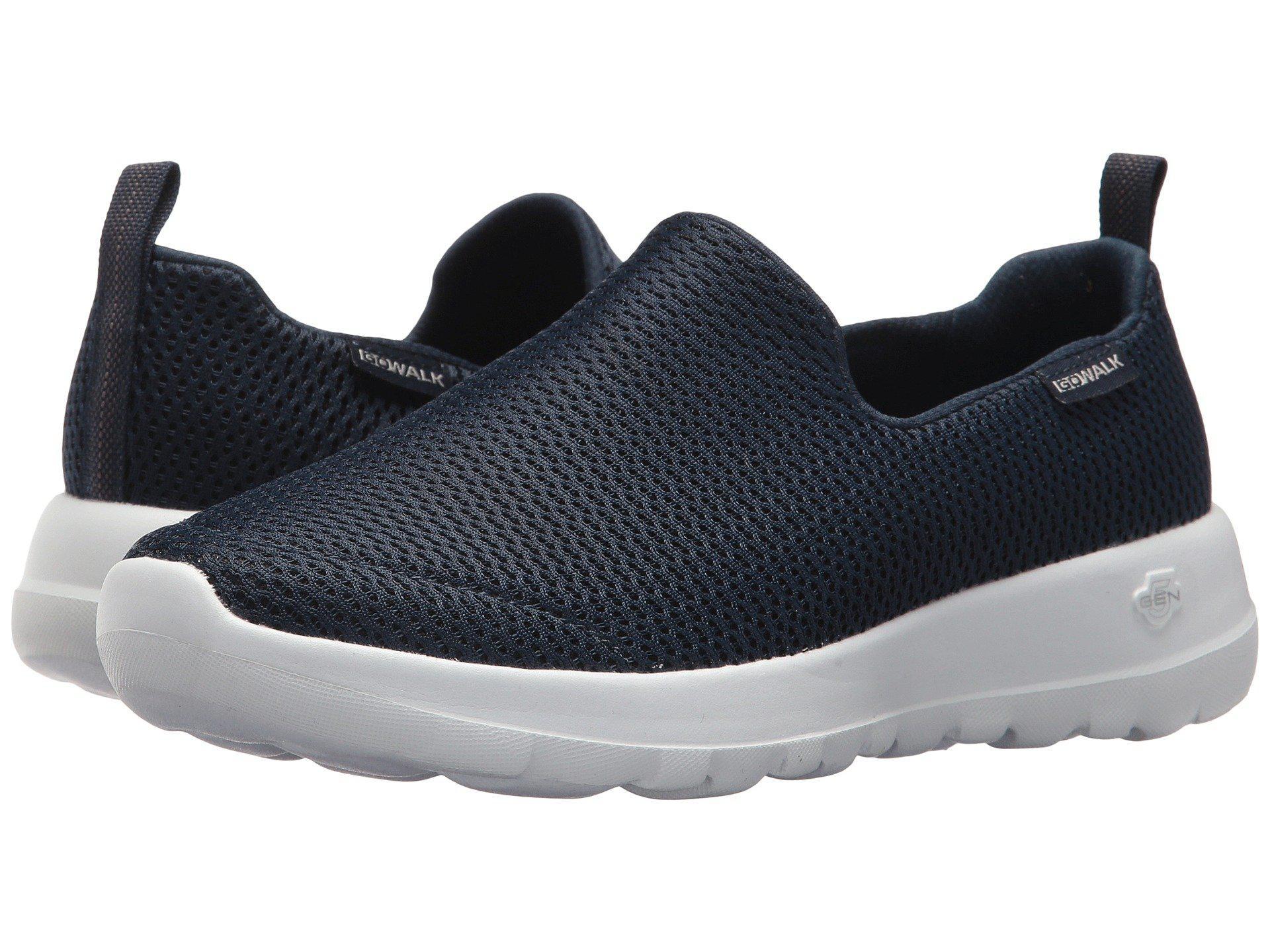 162cc7530cd3 Lyst - Skechers Go Walk Joy (black) Women s Slip On Shoes in Blue ...