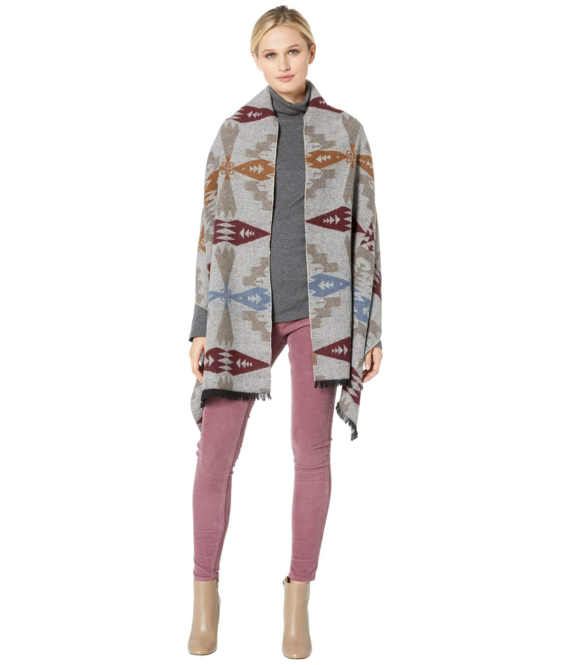 Pendleton Womens Oversized Wrap