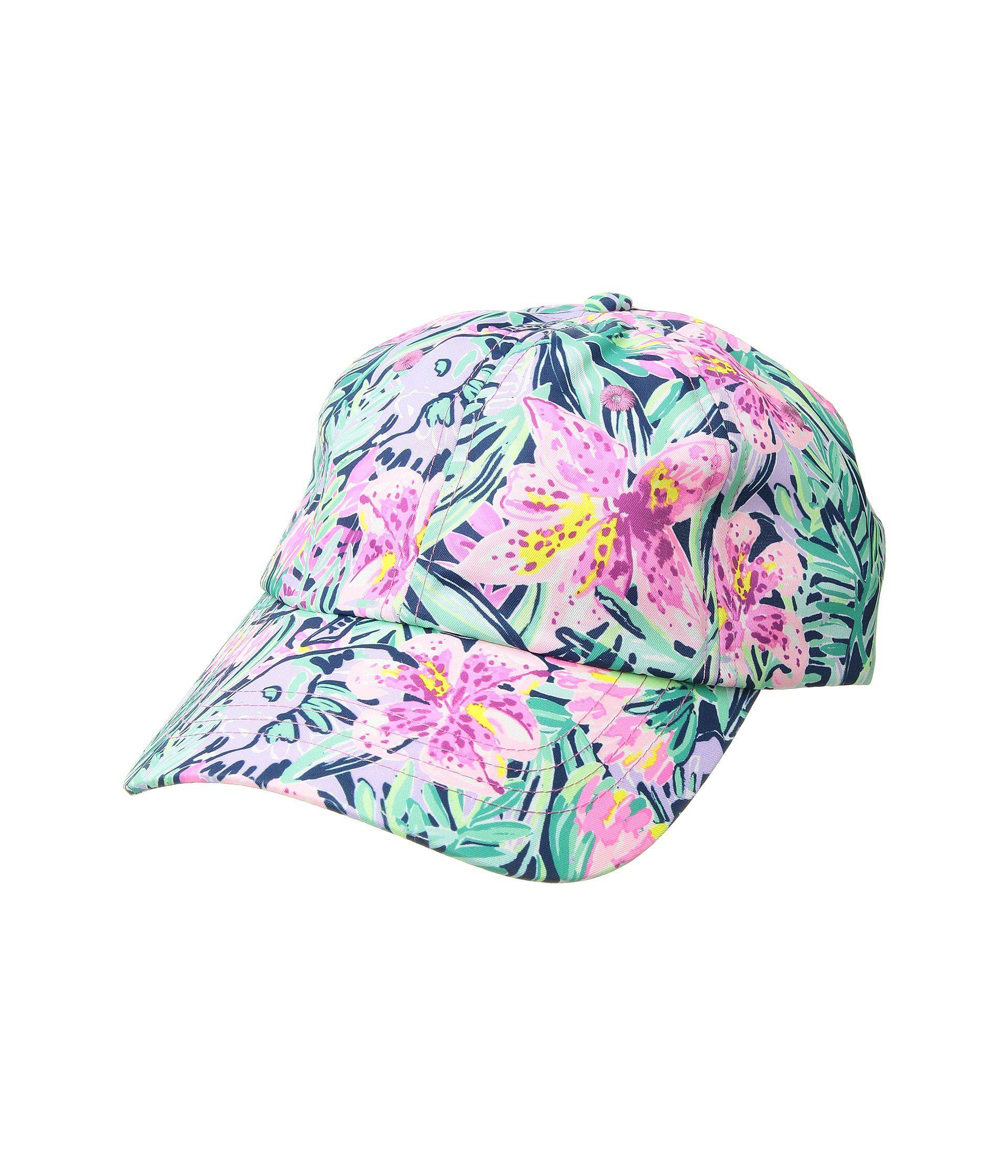 5b677b5f069 Lyst - Lilly Pulitzer Run Around Hat (mandevilla Pink Extra Lucky ...