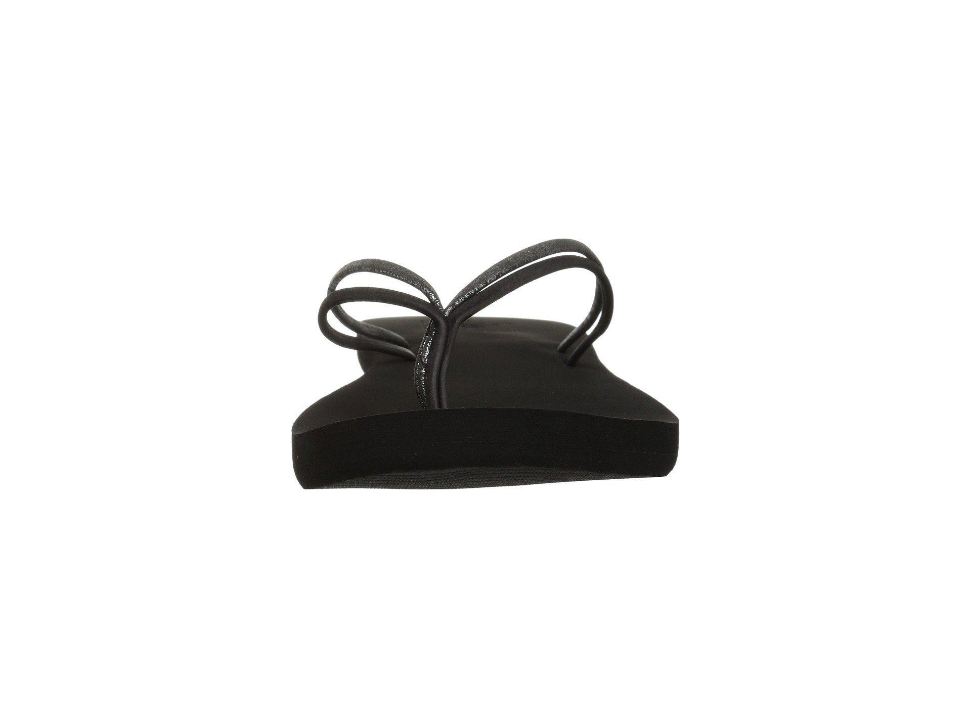 76215ec6c1d7 Lyst - Reef Double Bliss (snake) Women s Sandals in Black