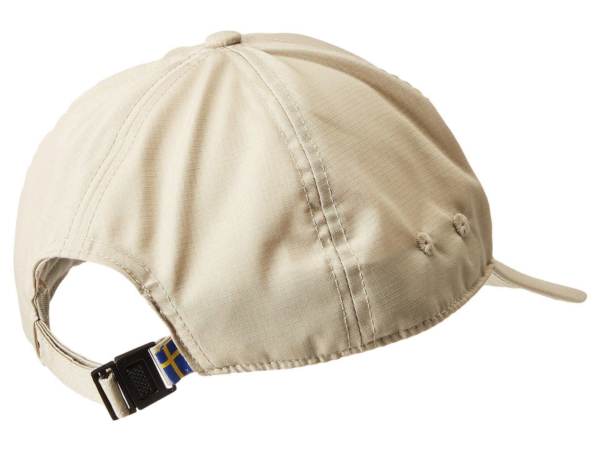 Fjallraven - Natural Sun Cap (limestone) Caps for Men - Lyst. View  fullscreen aa871d362492