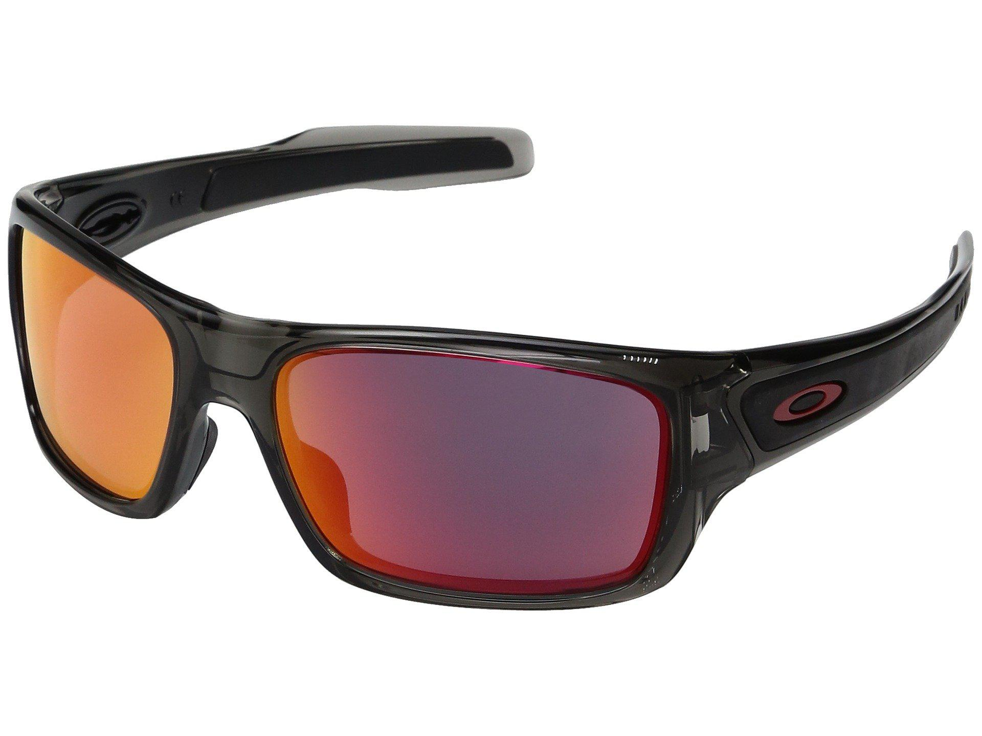 6edc8fb9fd Oakley. Men s Turbine Xs (polished White W  Prizm Deep Water Polarized)  Fashion Sunglasses