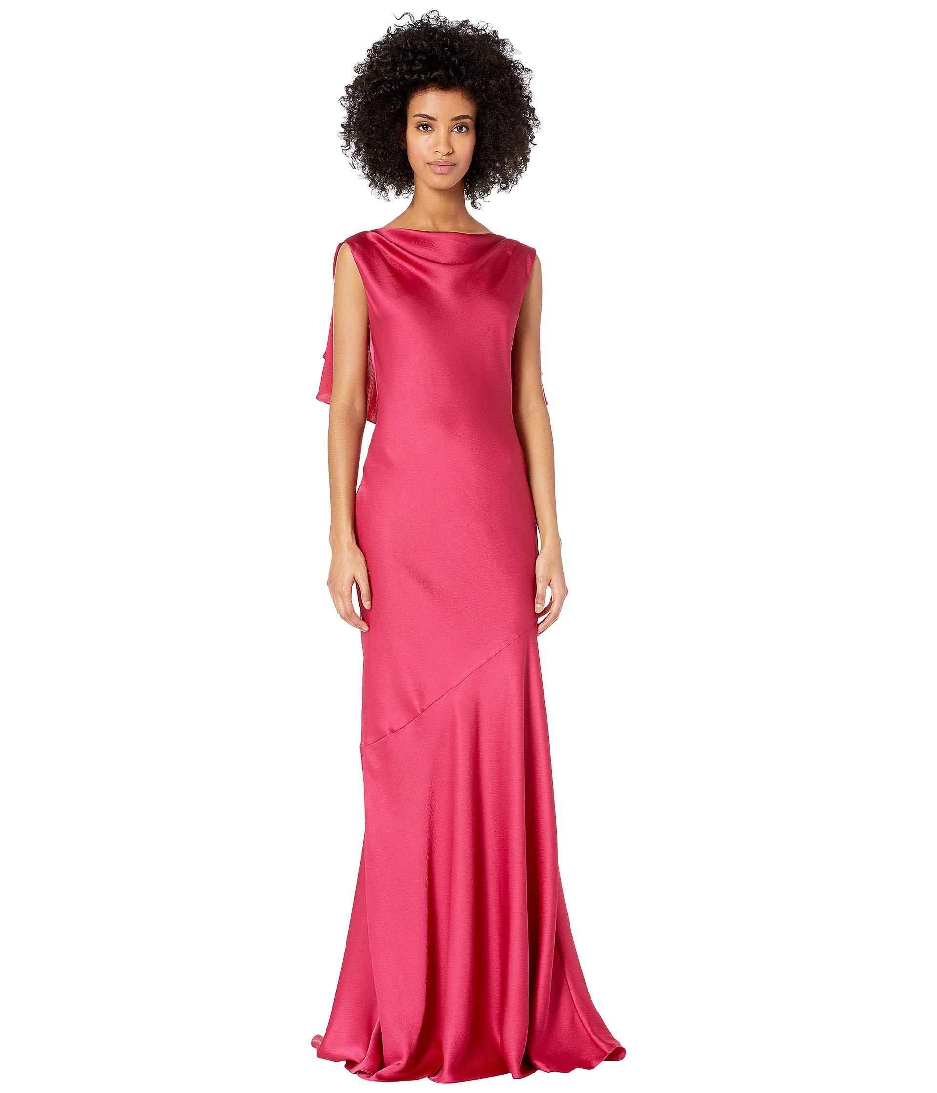 ca4e2778a80 Rachel Zoe Ami Gown (royal fuchsia) Women s Dress - Lyst