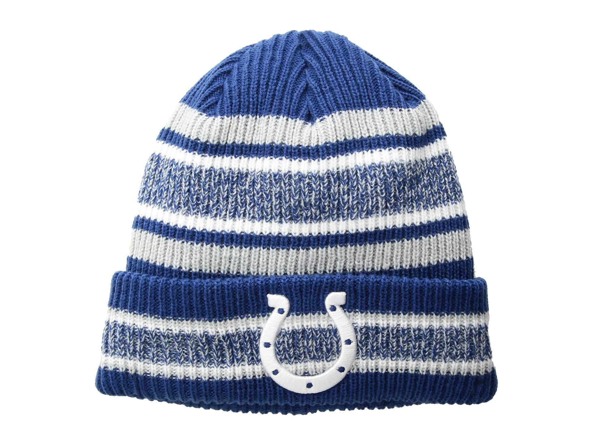 b4e37614f2d Lyst - Ktz Indianapolis Colts Vintage Stripe (blue) Baseball Caps in ...
