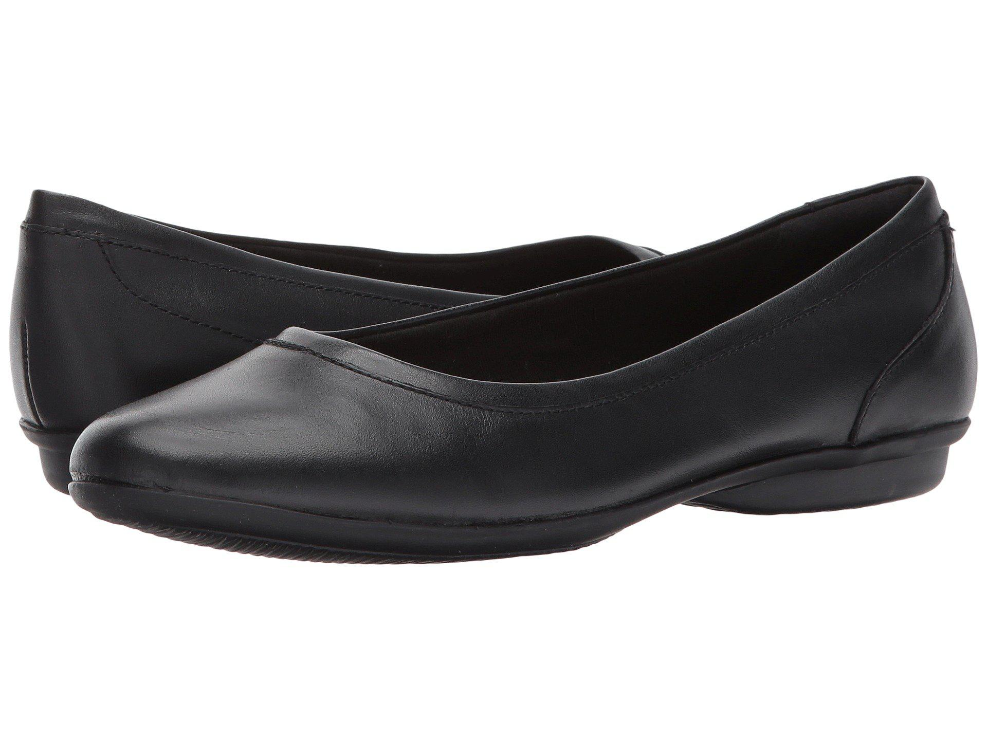 143f3a6edd3f Lyst - Clarks Gracelin Mara (black Smooth) Women s Shoes in Black
